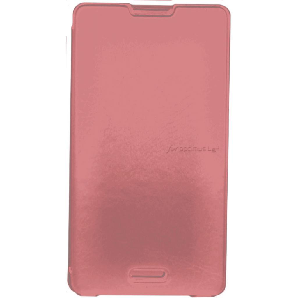 Чехол для моб. телефона VOIA для LG E450 Optimus L5II /Flip/Pink (6068229)