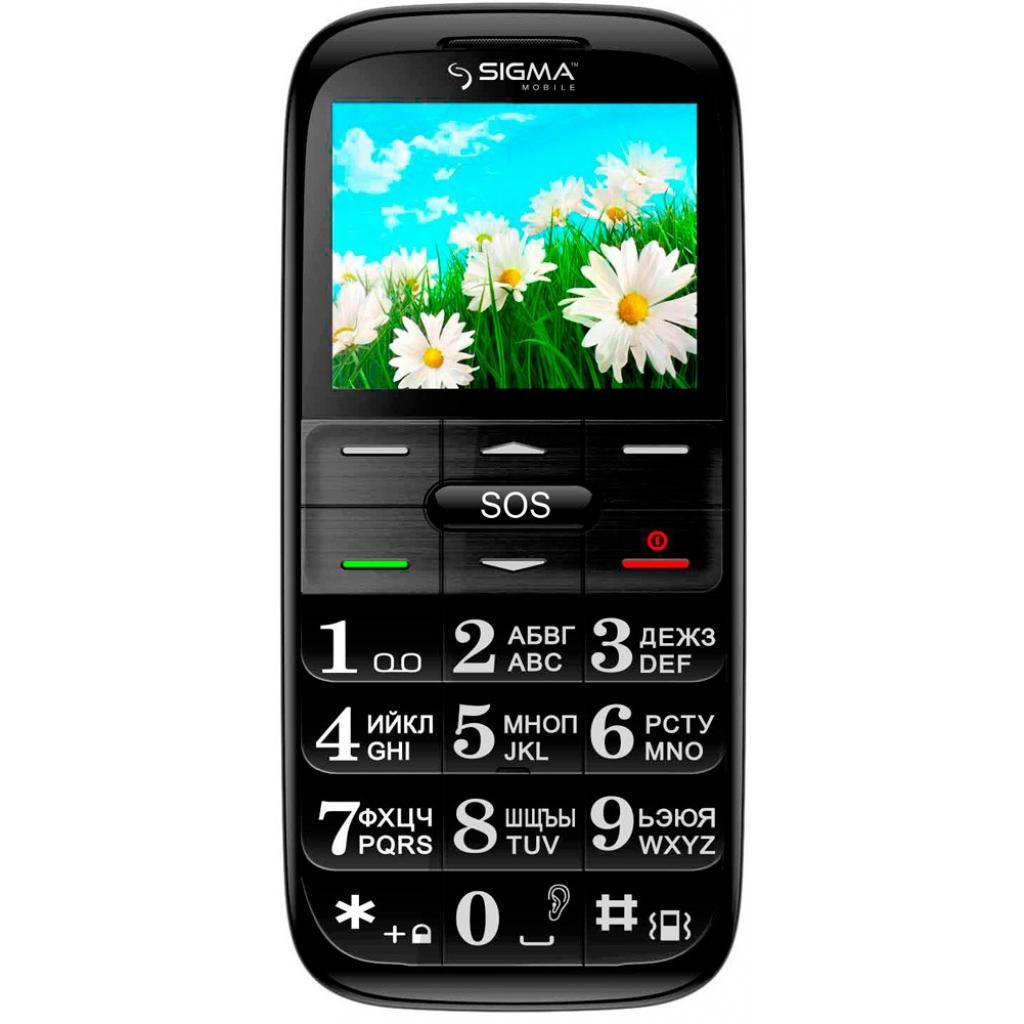 Мобильный телефон Sigma Comfort 50 Slim Red-Black (4304210212175) изображение 2