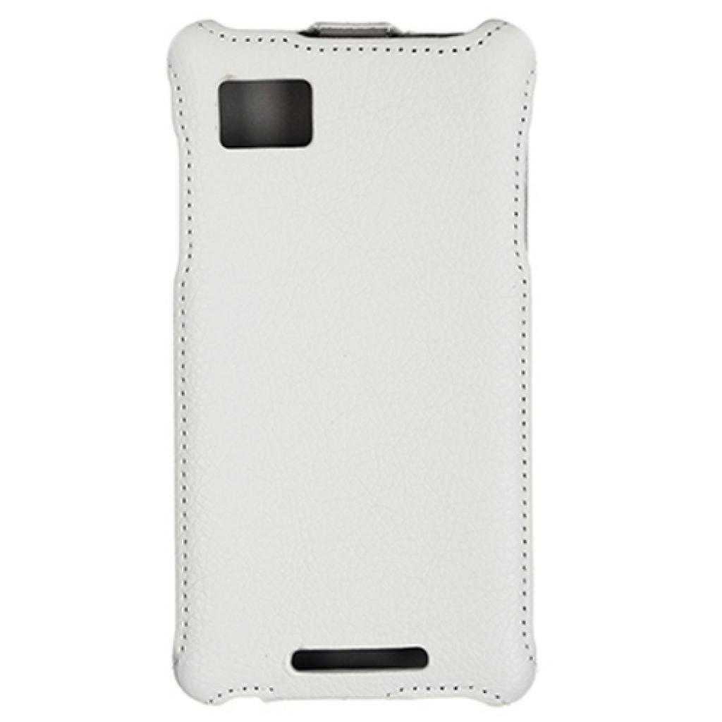 Чехол для моб. телефона для Lenovo K910 (White) Lux-flip Drobak (211467) изображение 2