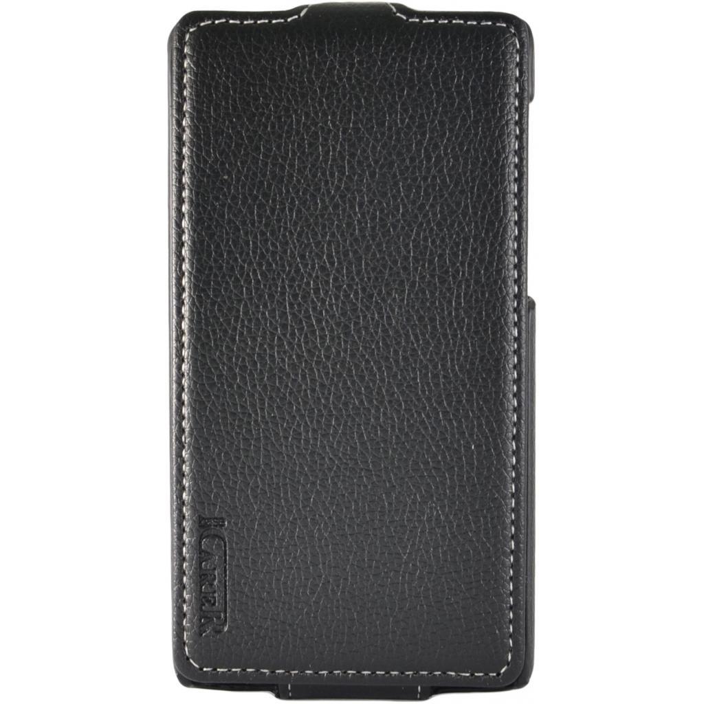 Чехол для моб. телефона Carer Base Huawei Ascend G620 black (Carer Base Huawei G620)
