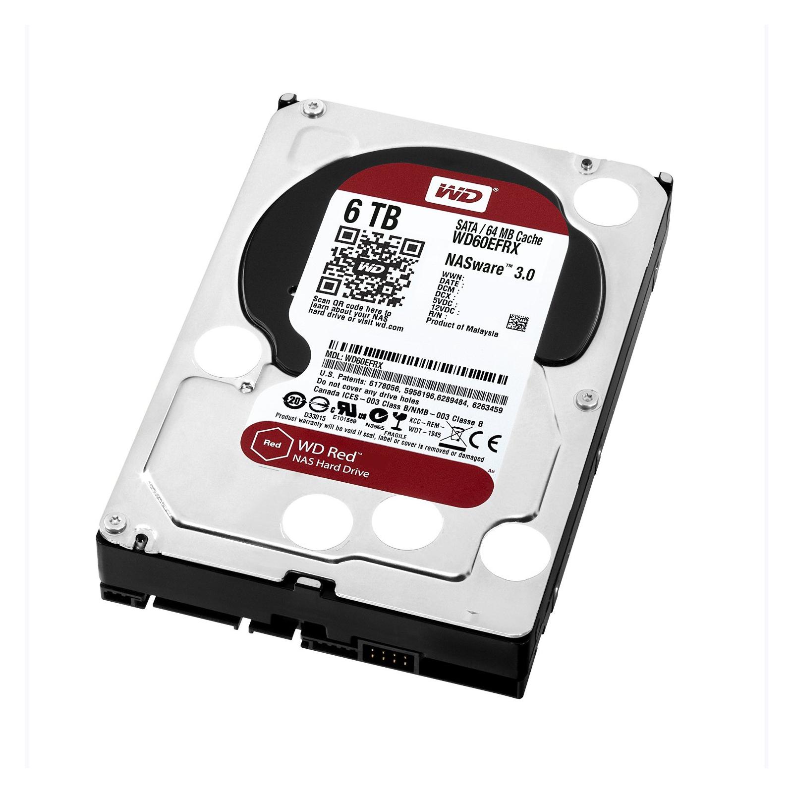 """Жесткий диск 3.5"""" 6TB Western Digital (WD60EFRX) изображение 2"""