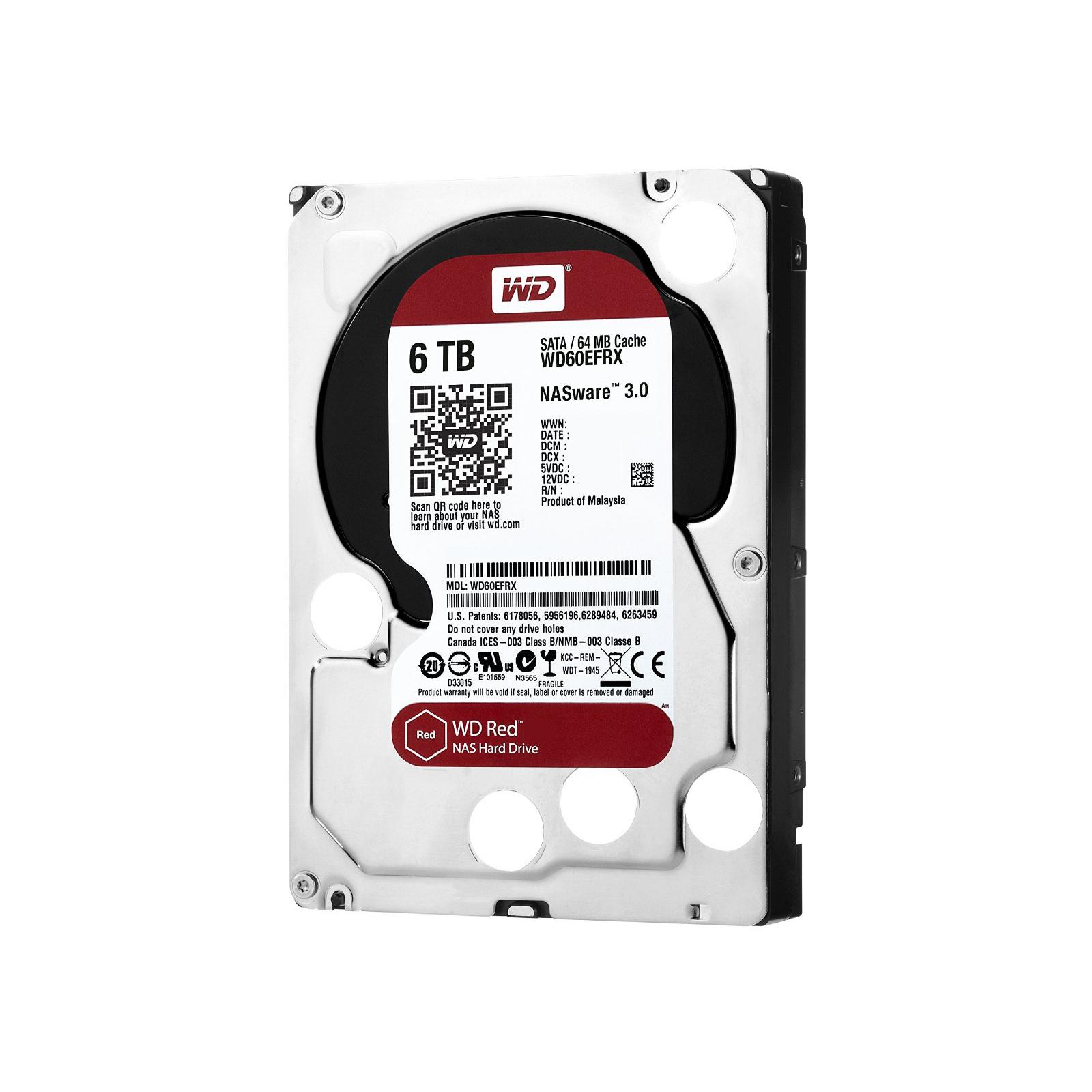 """Жесткий диск 3.5"""" 6TB Western Digital (WD60EFRX) изображение 3"""