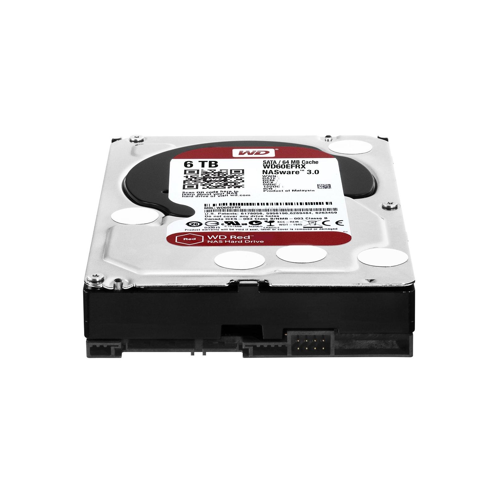 """Жесткий диск 3.5"""" 6TB Western Digital (WD60EFRX) изображение 4"""