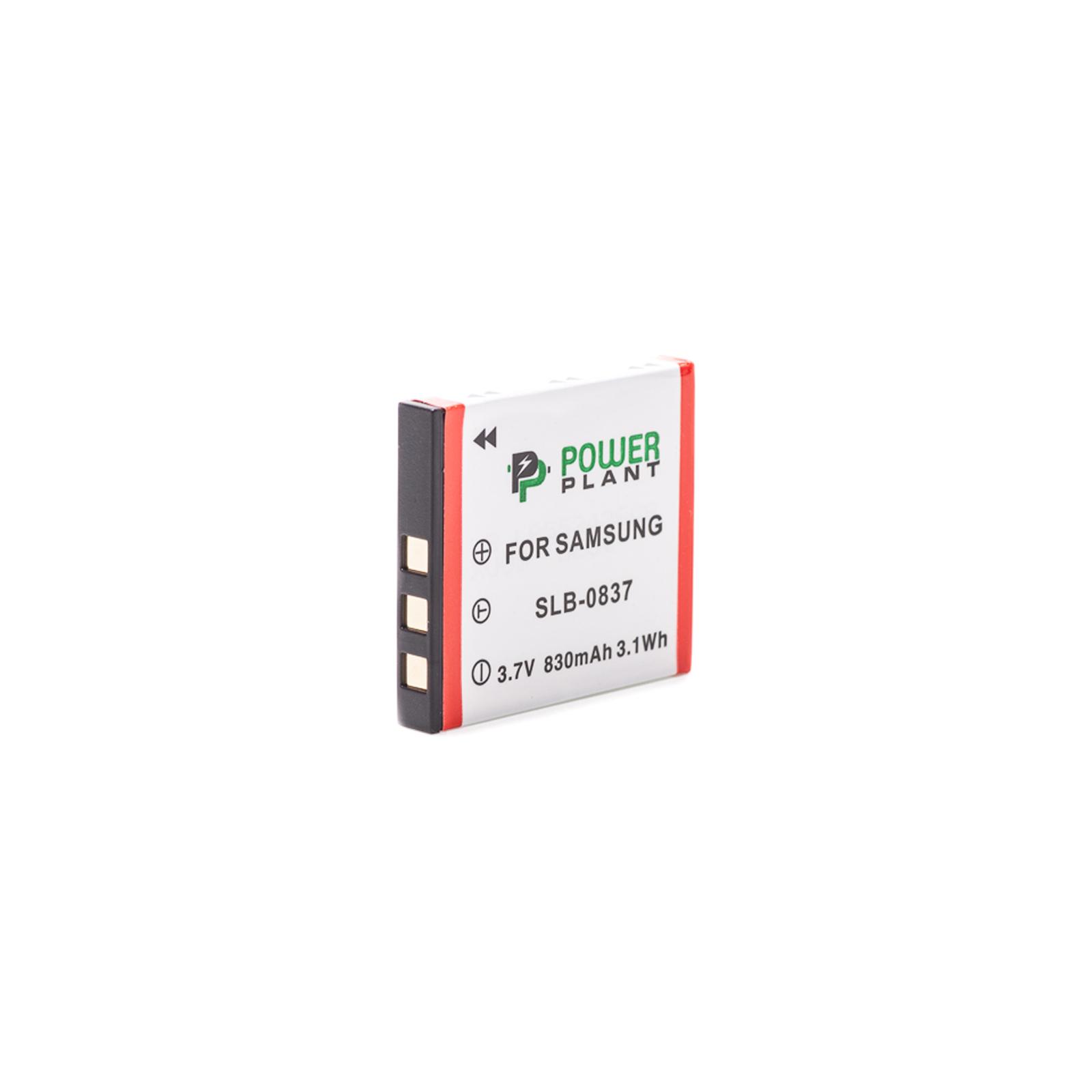 Аккумулятор к фото/видео PowerPlant Samsung SB-L0837 (DV00DV1202) изображение 2