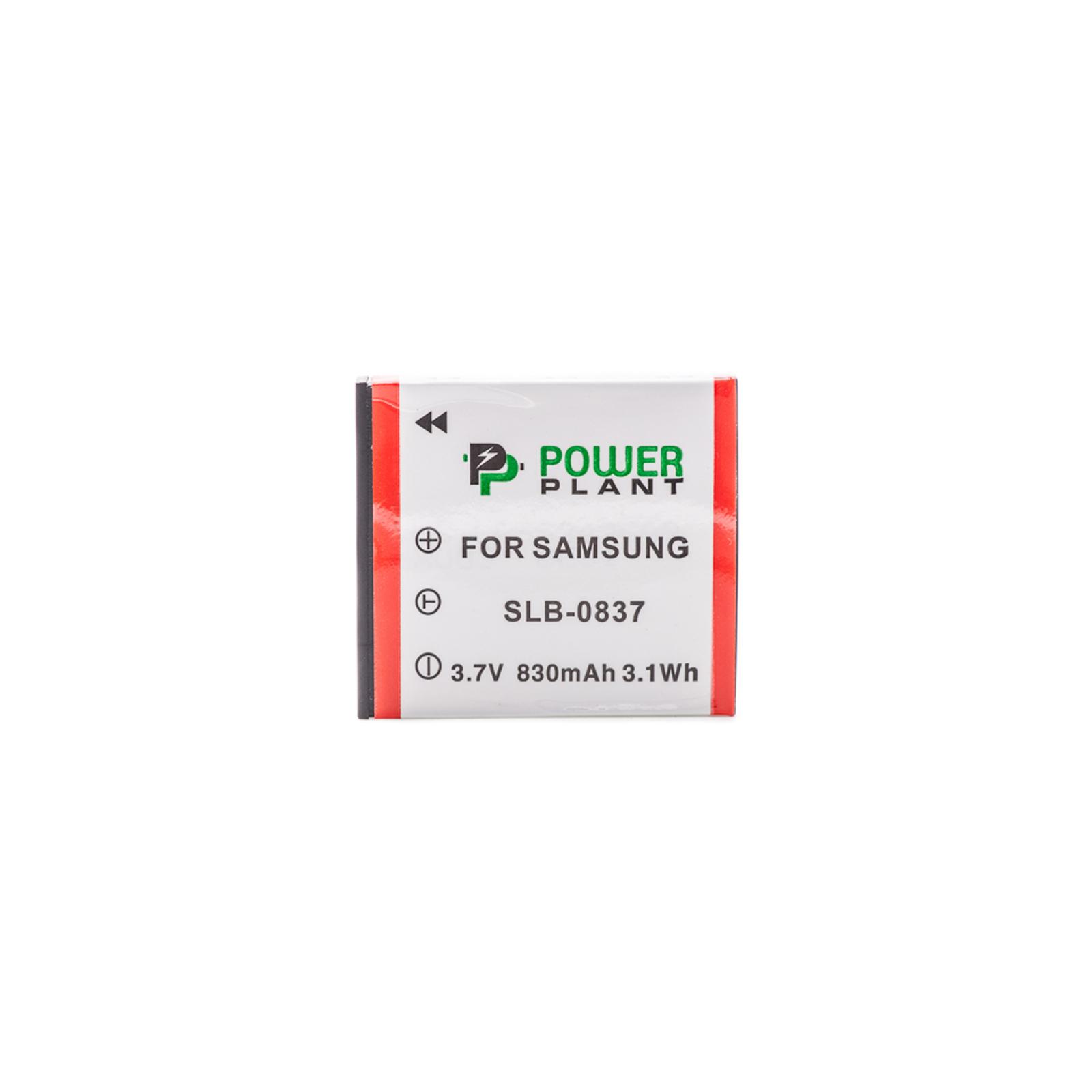 Аккумулятор к фото/видео PowerPlant Samsung SB-L0837 (DV00DV1202)