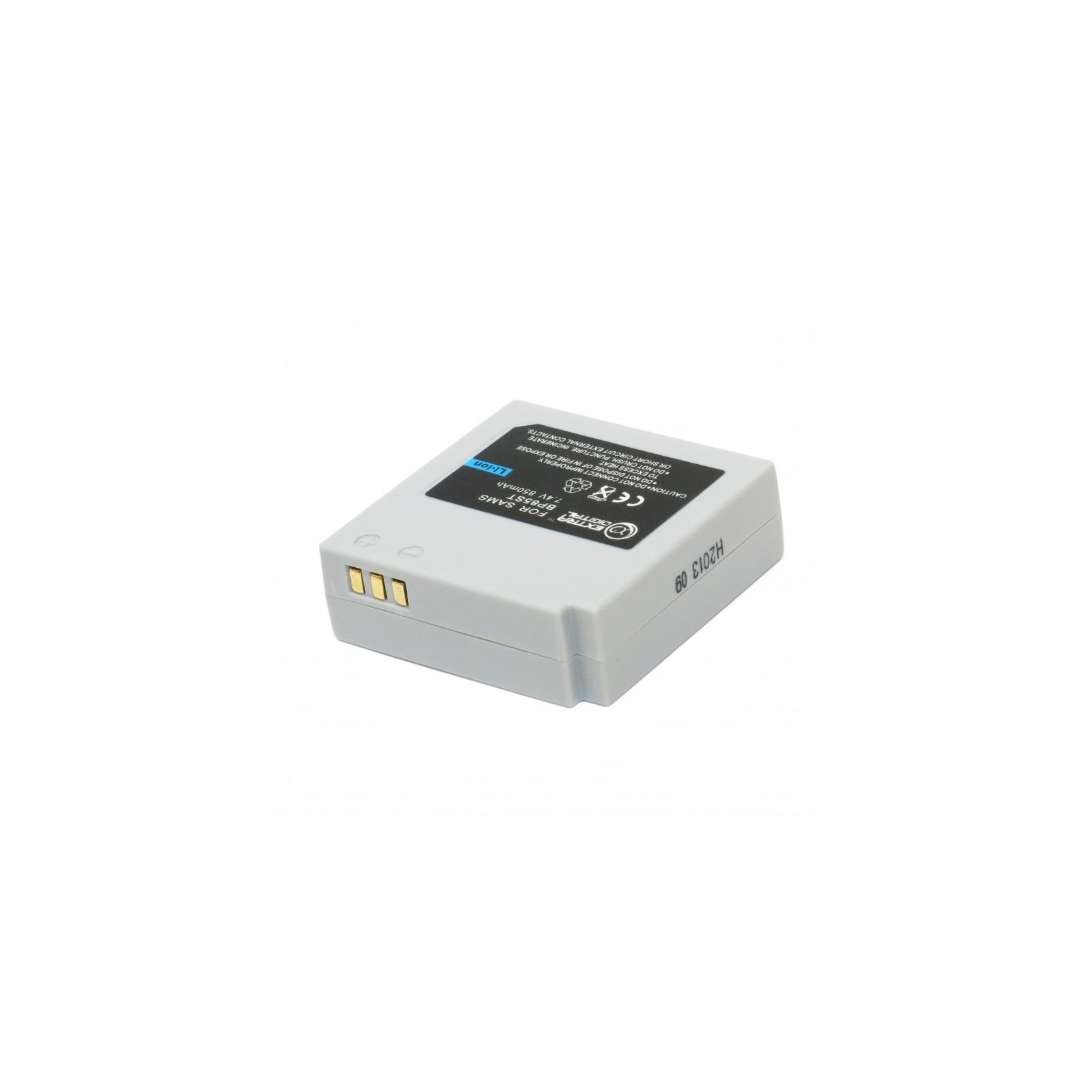 Аккумулятор к фото/видео EXTRADIGITAL Samsung IA-BP85ST (BDS2614) изображение 3