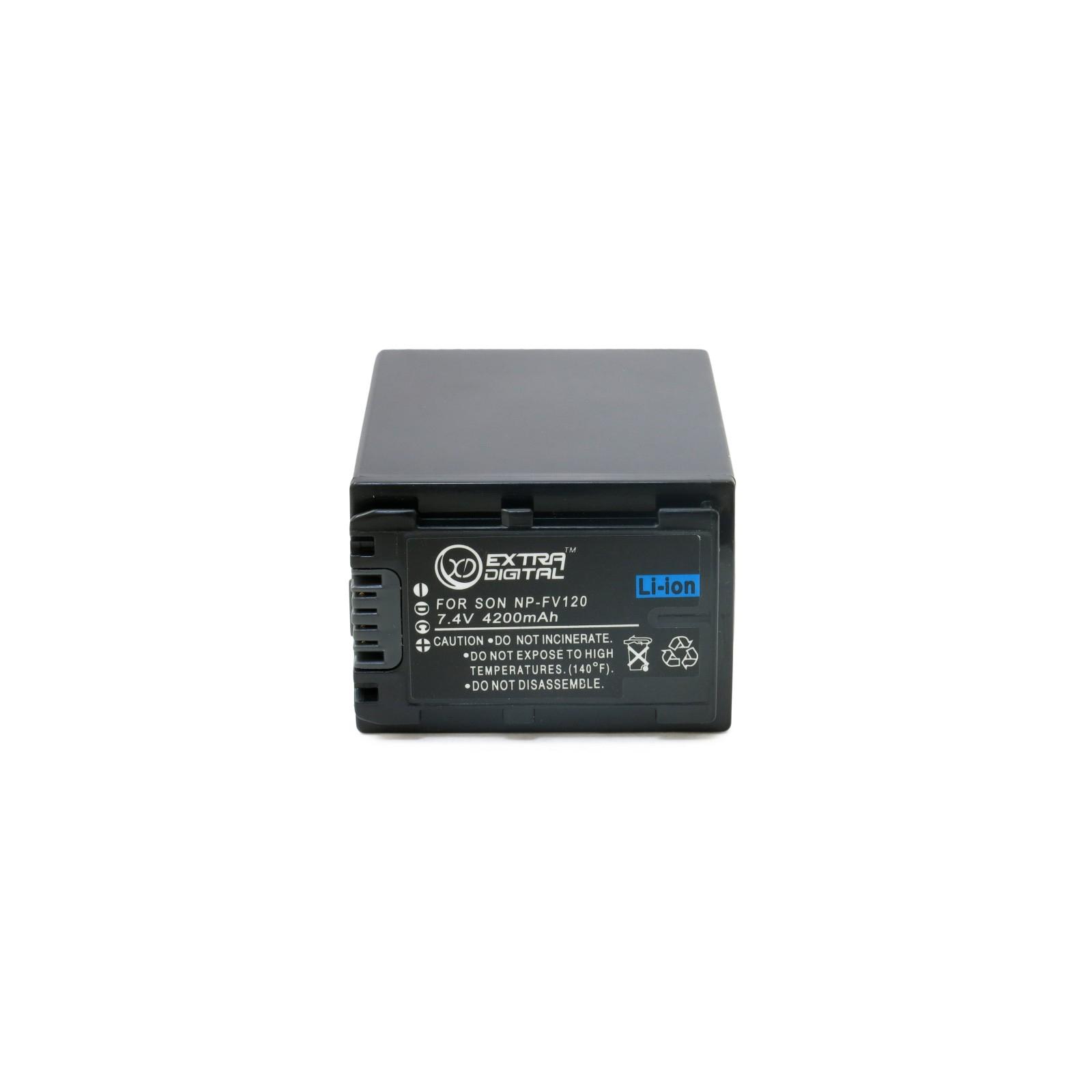 Аккумулятор к фото/видео EXTRADIGITAL Sony NP-FV120 (BDS2675) изображение 2