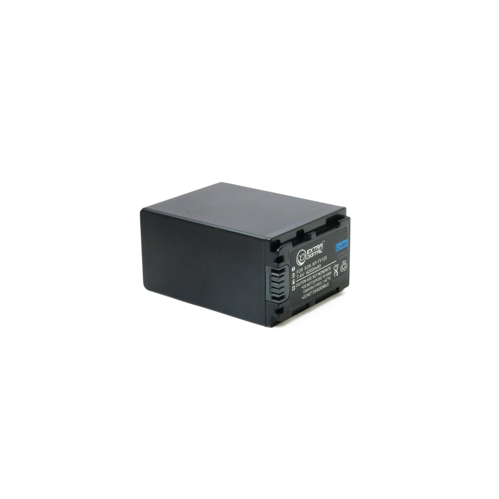 Аккумулятор к фото/видео EXTRADIGITAL Sony NP-FV120 (BDS2675) изображение 3