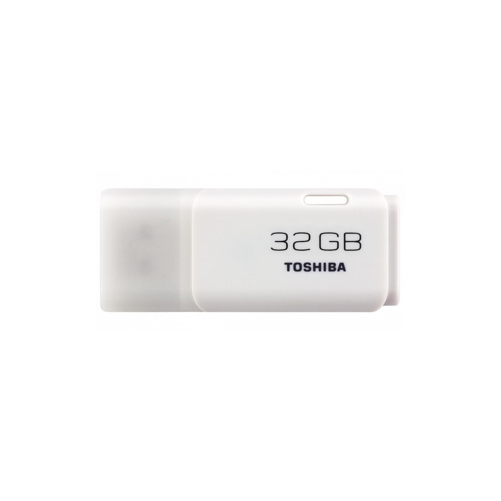 USB флеш накопитель TOSHIBA 32GB Hayabusa White USB 2.0 (THN-U202W0320E4)