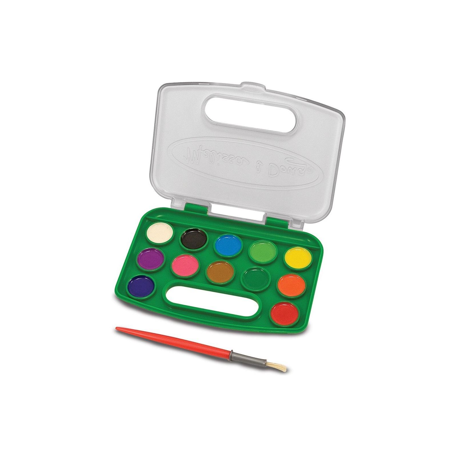 Набор для творчества Melissa&Doug Акварельные краски 12 цветов (MD14114) изображение 2