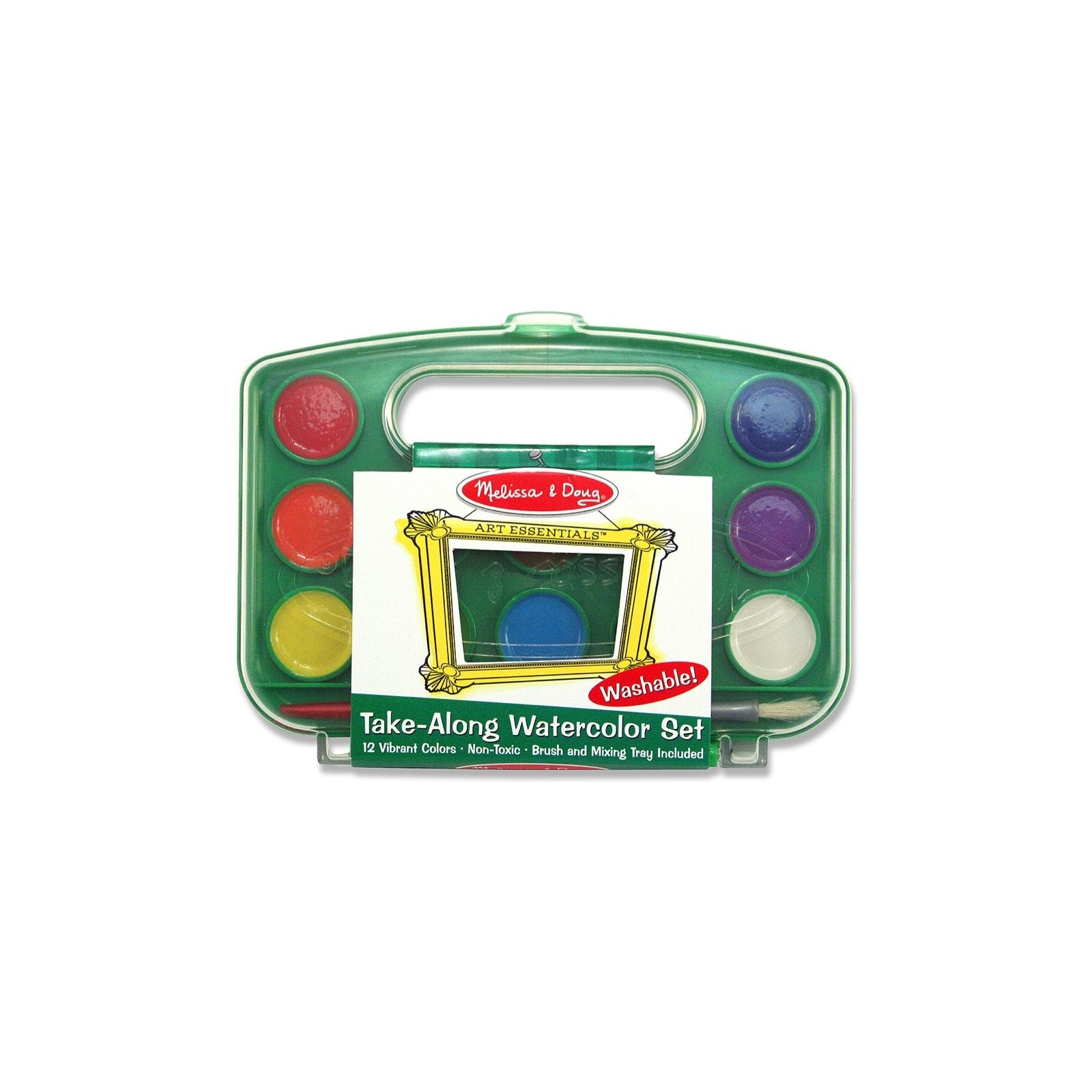 Набор для творчества Melissa&Doug Акварельные краски 12 цветов (MD14114)