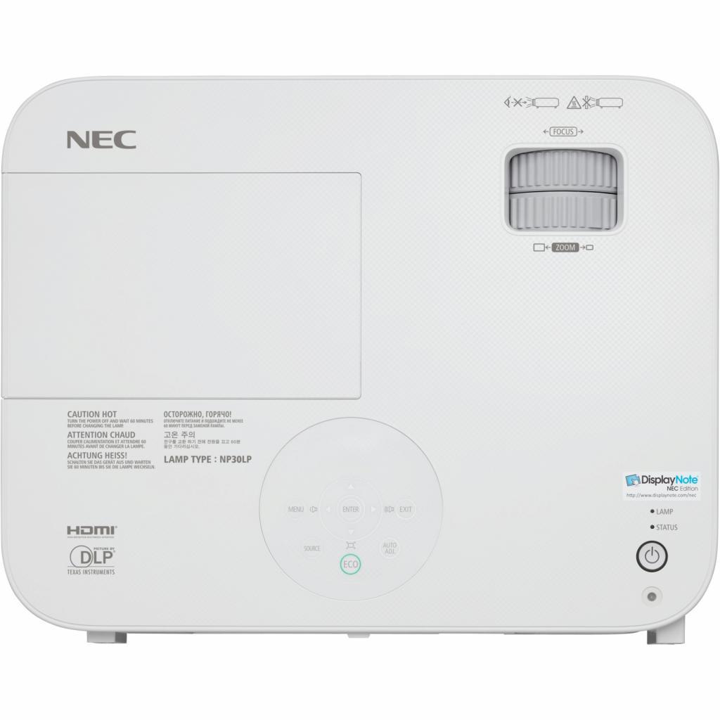 Проектор NEC M323W (60003972) изображение 8
