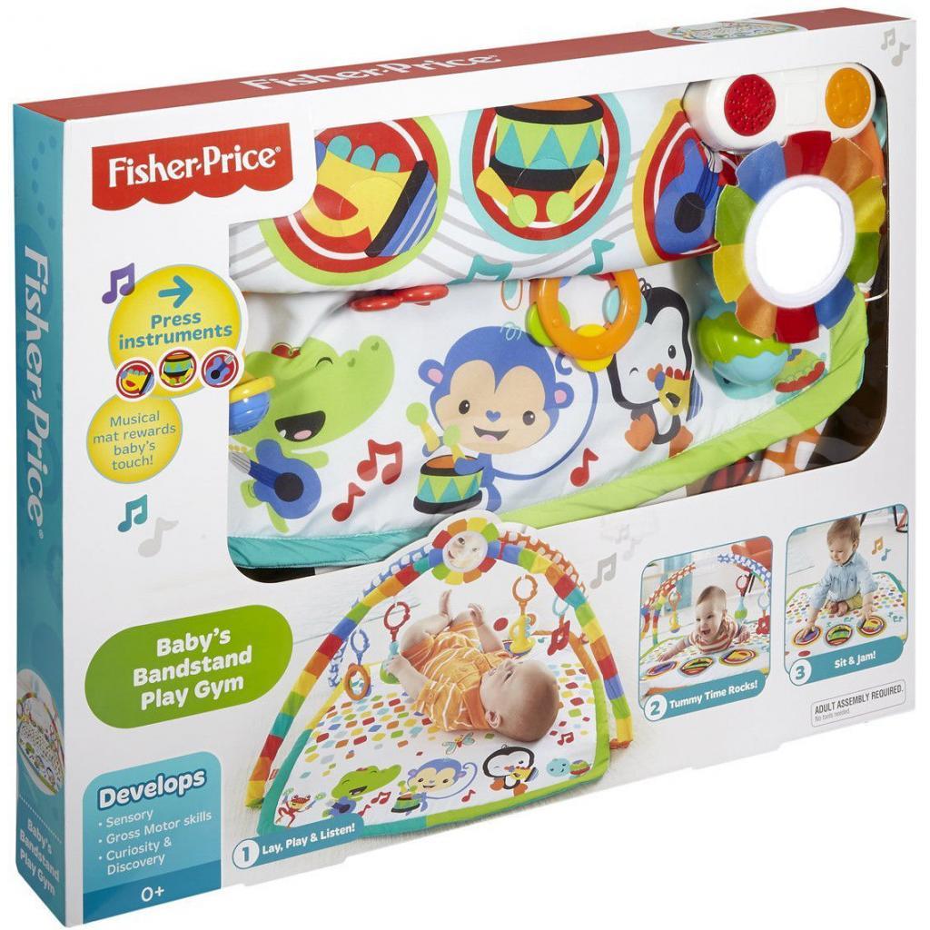 Детский коврик Fisher-Price Музыкальный Оркестр (DFP69) изображение 6
