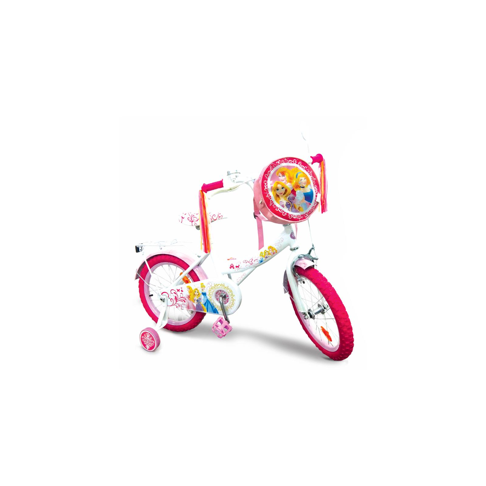"""Детский велосипед Disney 16"""" Disney Princess со звонком и зеркалом (PR1601)"""