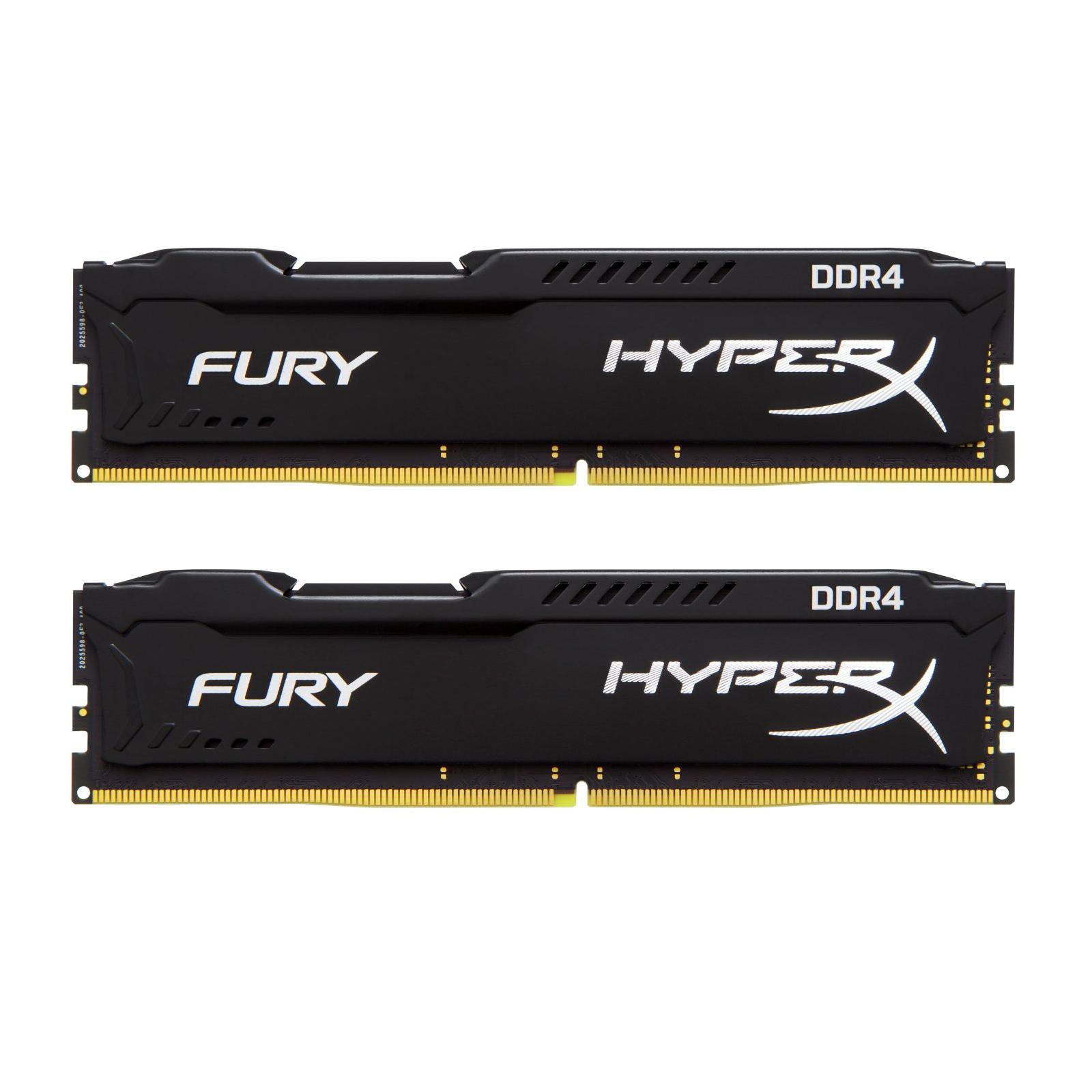 Модуль памяти для компьютера DDR4 32GB (2x16GB) 2400 MHz HyperX FURY Black Kingston (HX424C15FBK2/32)