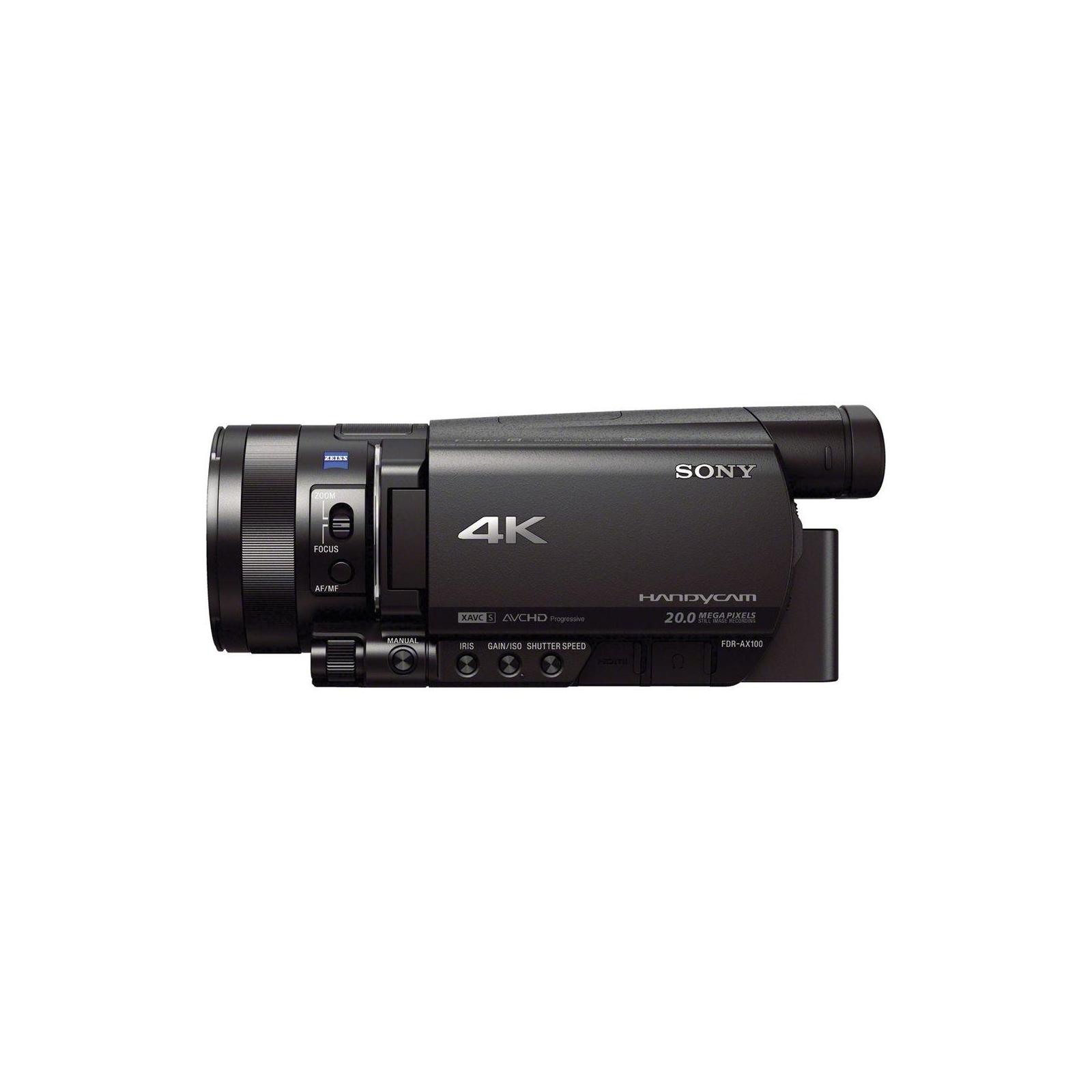 Цифровая видеокамера Sony Handycam FDR-AX700 Black (FDRAX700B.CEE) изображение 8