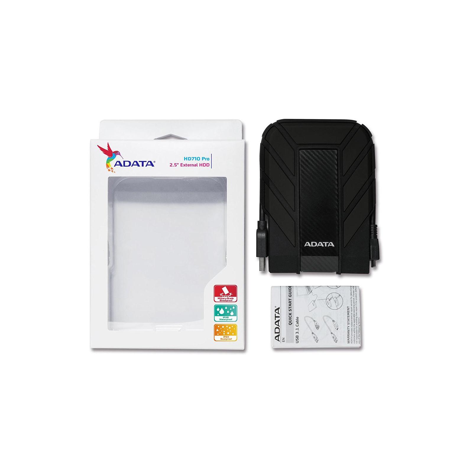 """Внешний жесткий диск 2.5"""" 2TB ADATA (AHD710P-2TU31-CBK) изображение 5"""