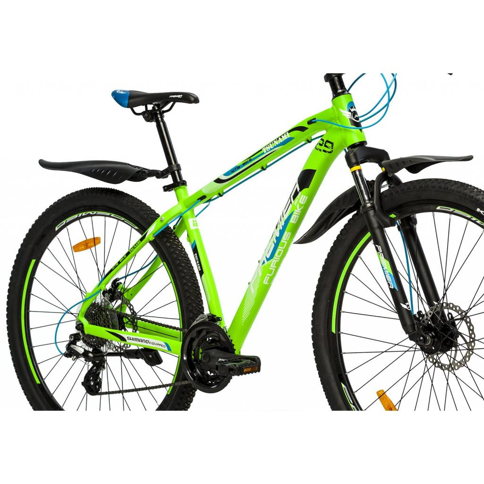 "Велосипед Premier Tsunami 29 Disc 17"" matt white (SP0001503) изображение 3"