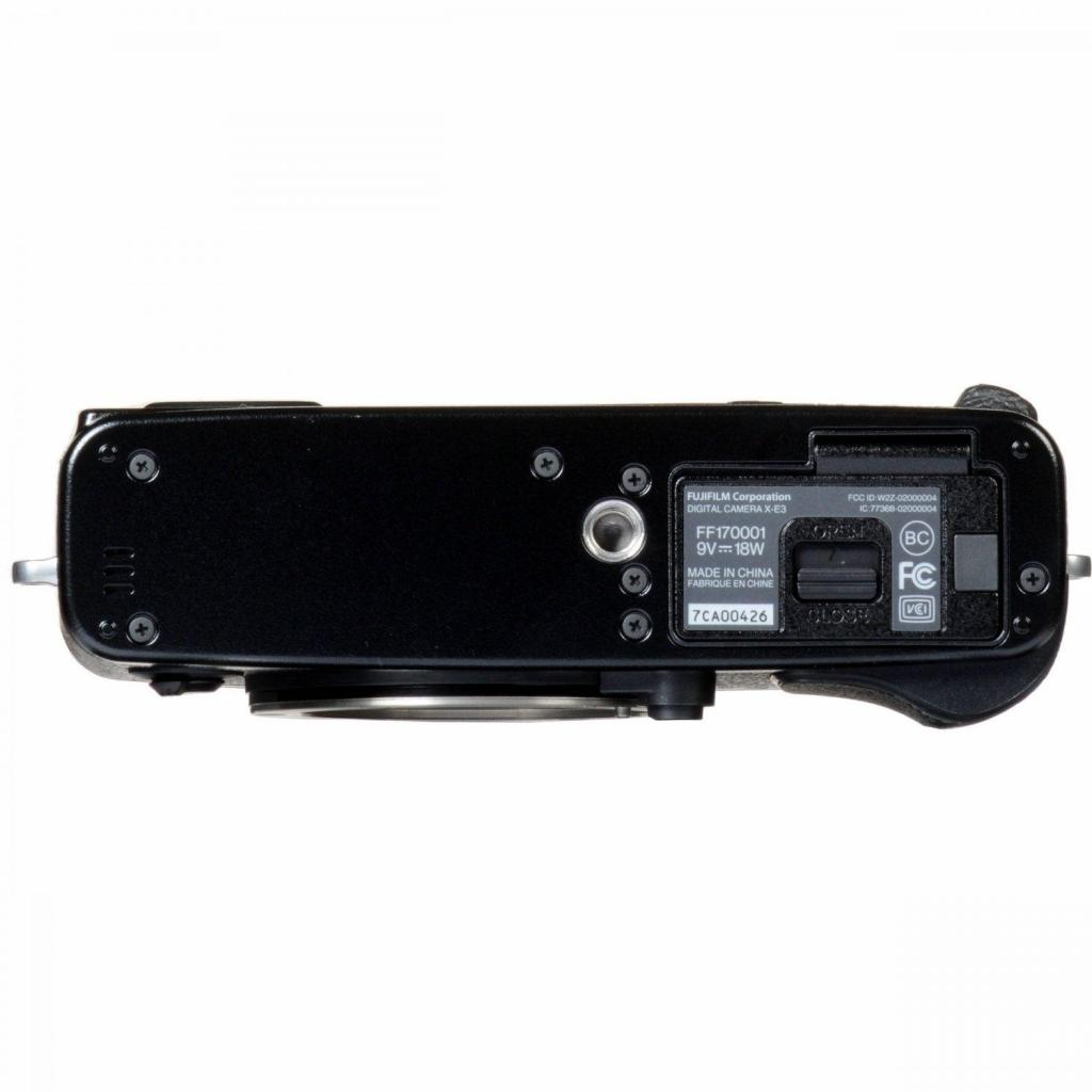 Цифровой фотоаппарат Fujifilm X-E3 + XF 18-55mm F2.8-4R Kit Black (16558853) изображение 6