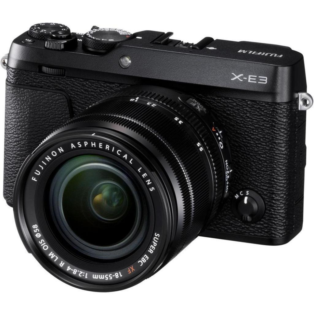 Цифровой фотоаппарат Fujifilm X-E3 + XF 18-55mm F2.8-4R Kit Black (16558853) изображение 8