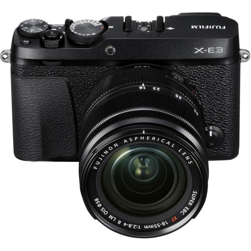 Цифровой фотоаппарат Fujifilm X-E3 + XF 18-55mm F2.8-4R Kit Black (16558853) изображение 9