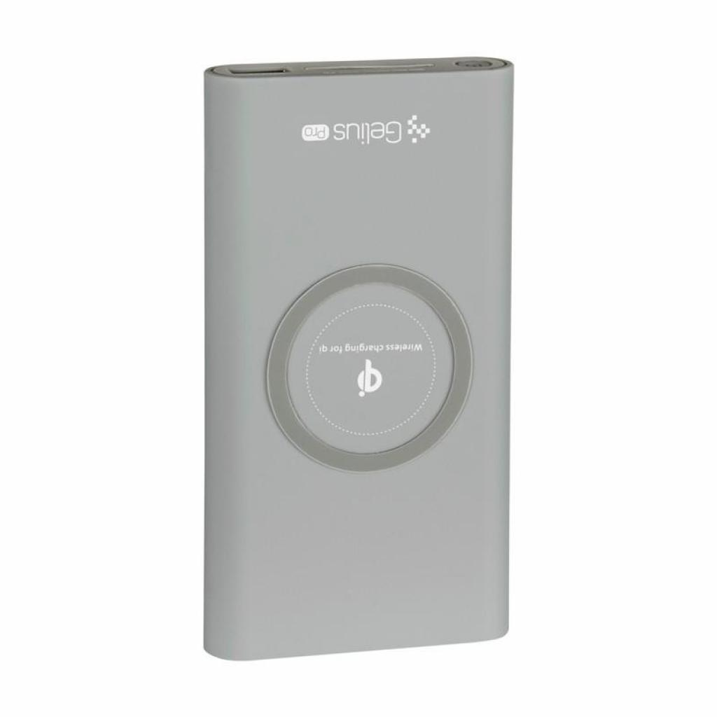 Батарея универсальная Gelius Pro Incredible (Wirelles) 10000mAh 2.1A Grey (65150) изображение 2