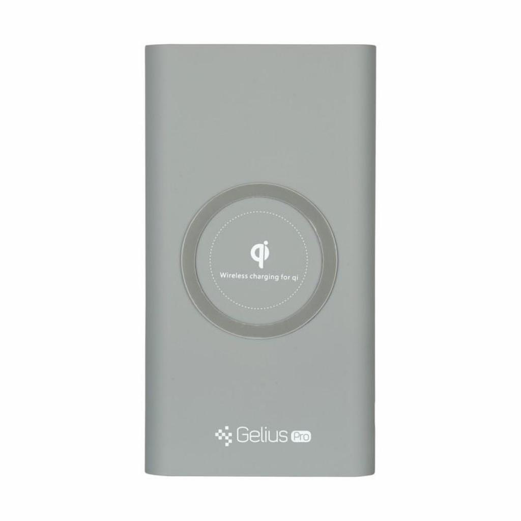 Батарея универсальная Gelius Pro Incredible (Wirelles) 10000mAh 2.1A Grey (65150) изображение 3