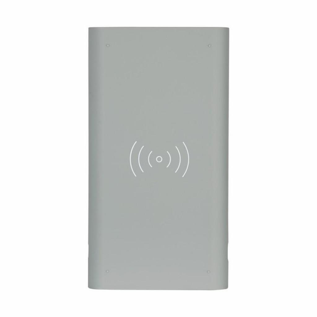 Батарея универсальная Gelius Pro Incredible (Wirelles) 10000mAh 2.1A Grey (65150) изображение 4