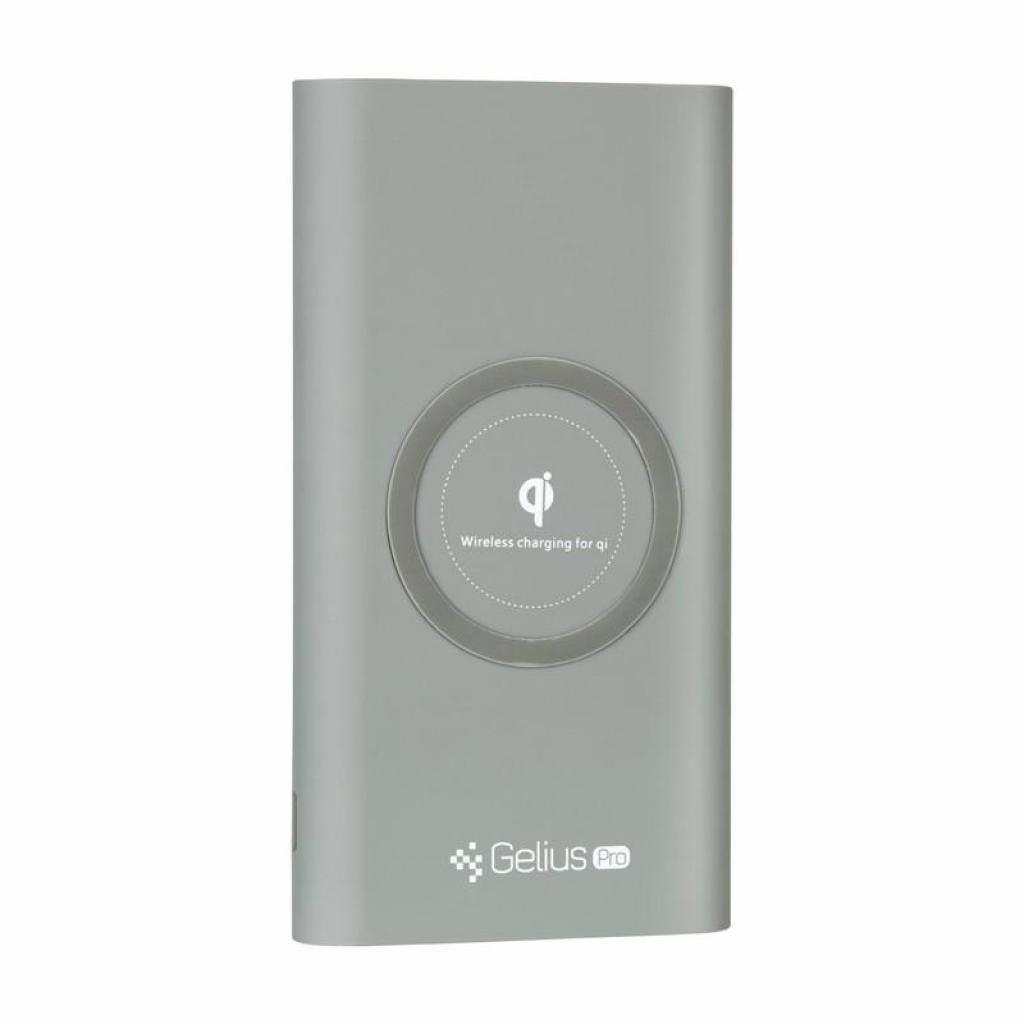 Батарея универсальная Gelius Pro Incredible (Wirelles) 10000mAh 2.1A Grey (65150) изображение 5