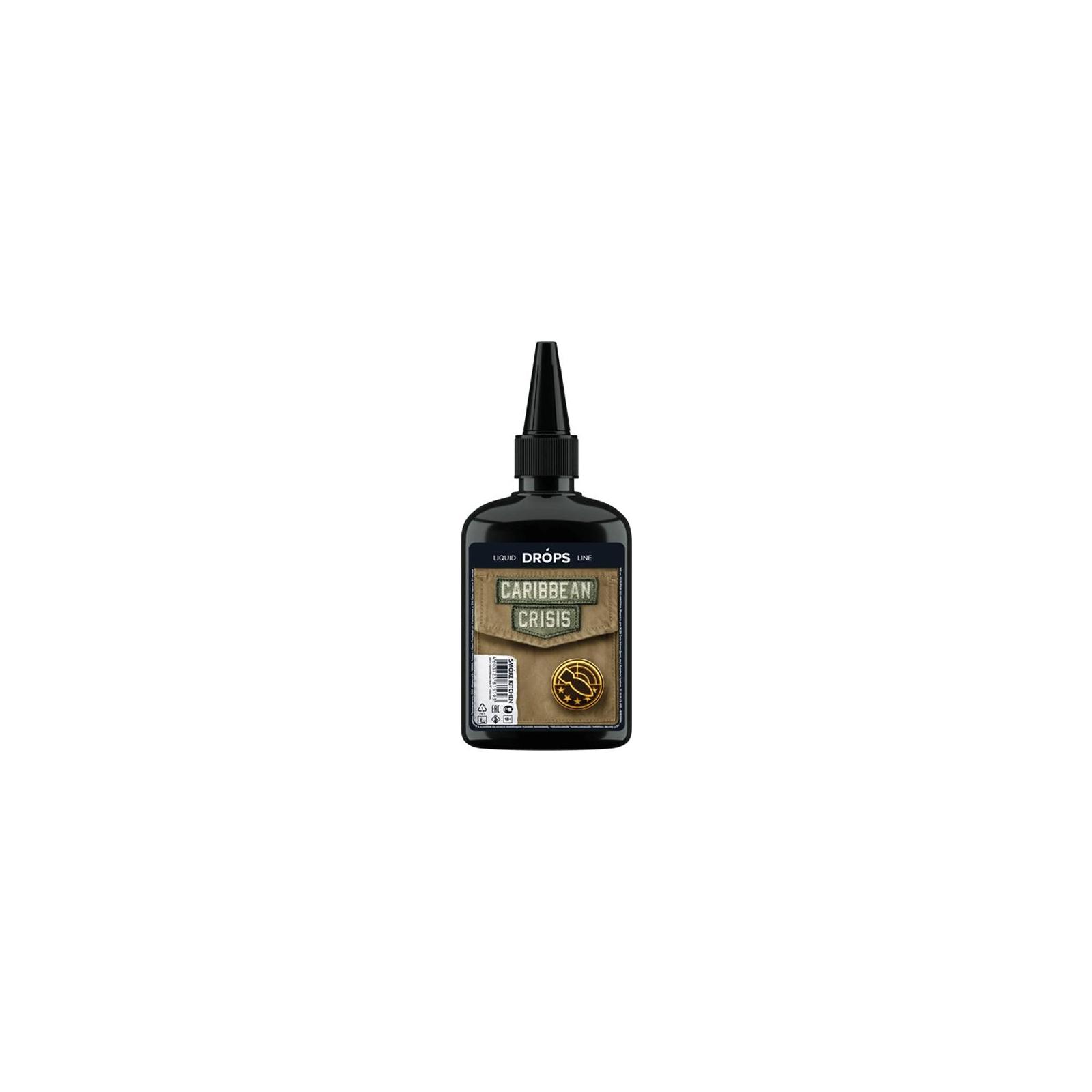 "Жидкость для электронных сигарет Smoke Kitchen Drops ""Caribbean Crisis"" 100 ml 3 мг/мл (CRP-CC-3)"