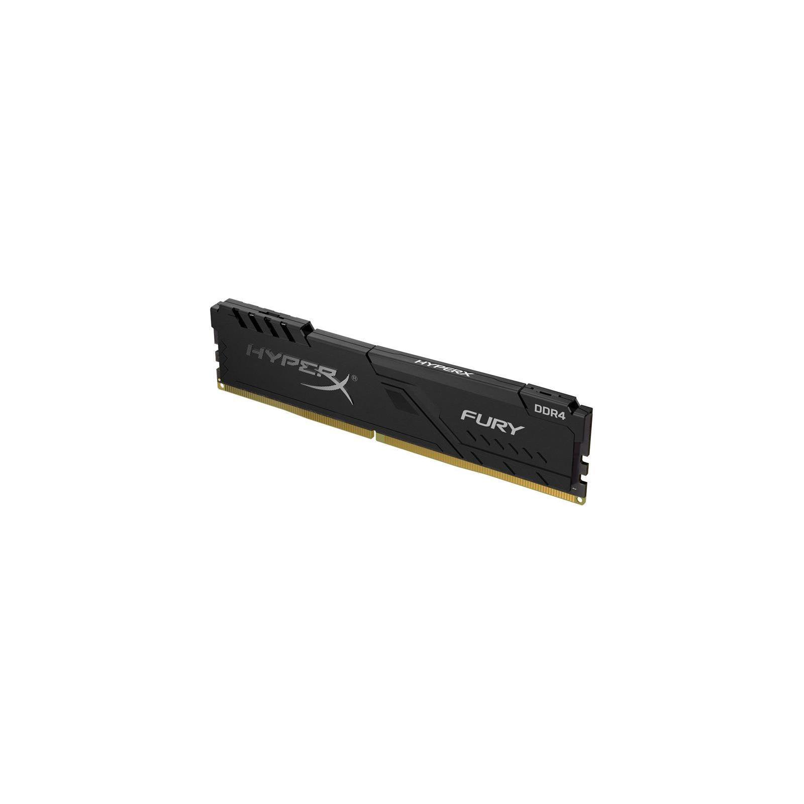 Модуль пам'яті для комп'ютера DDR4 8GB 2400 MHz HyperX FURY Black Kingston (HX424C15FB3/8) зображення 2