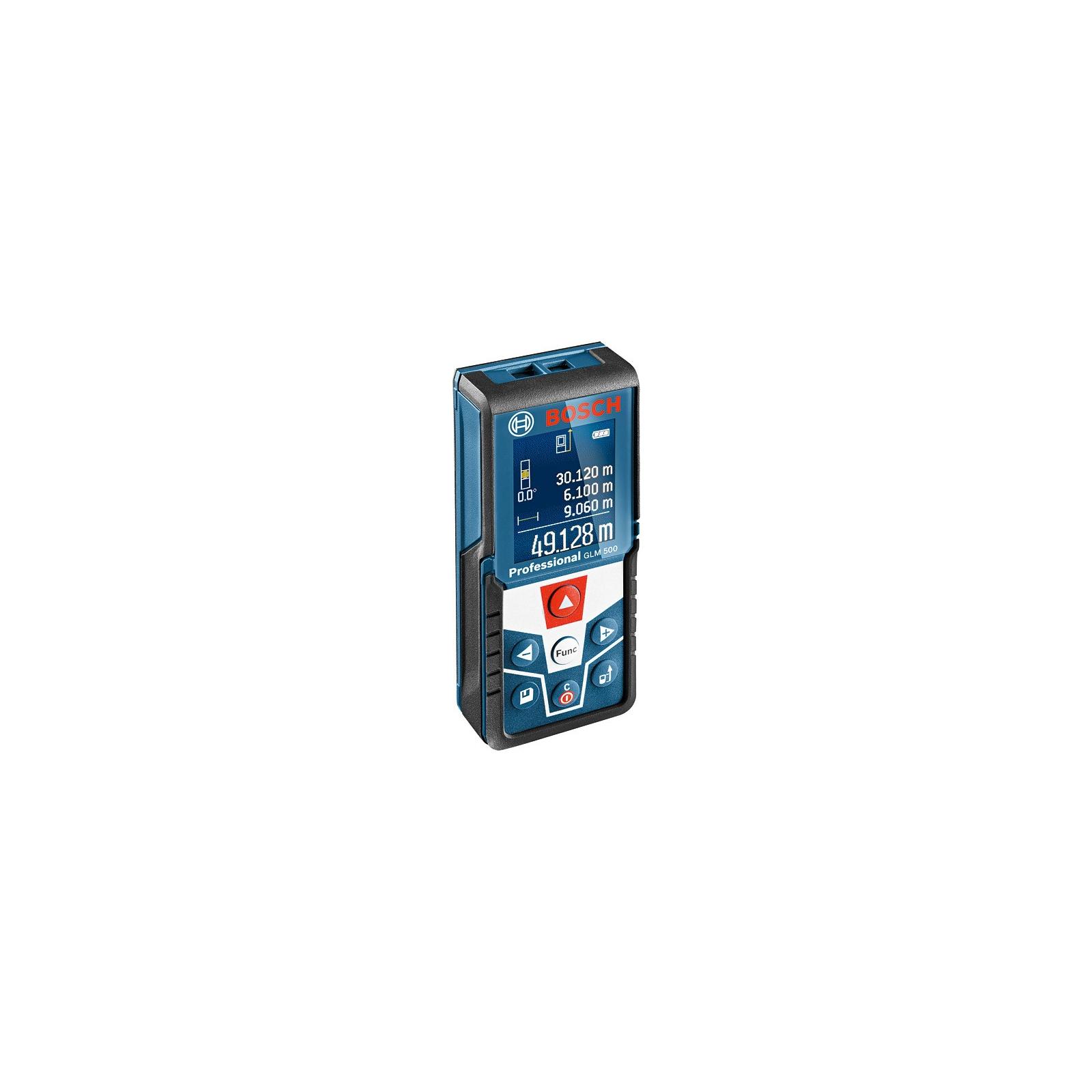 Дальномер Bosch GLM 500 лазерний, 50м, ±1.5мм (0.601.072.H00) изображение 2
