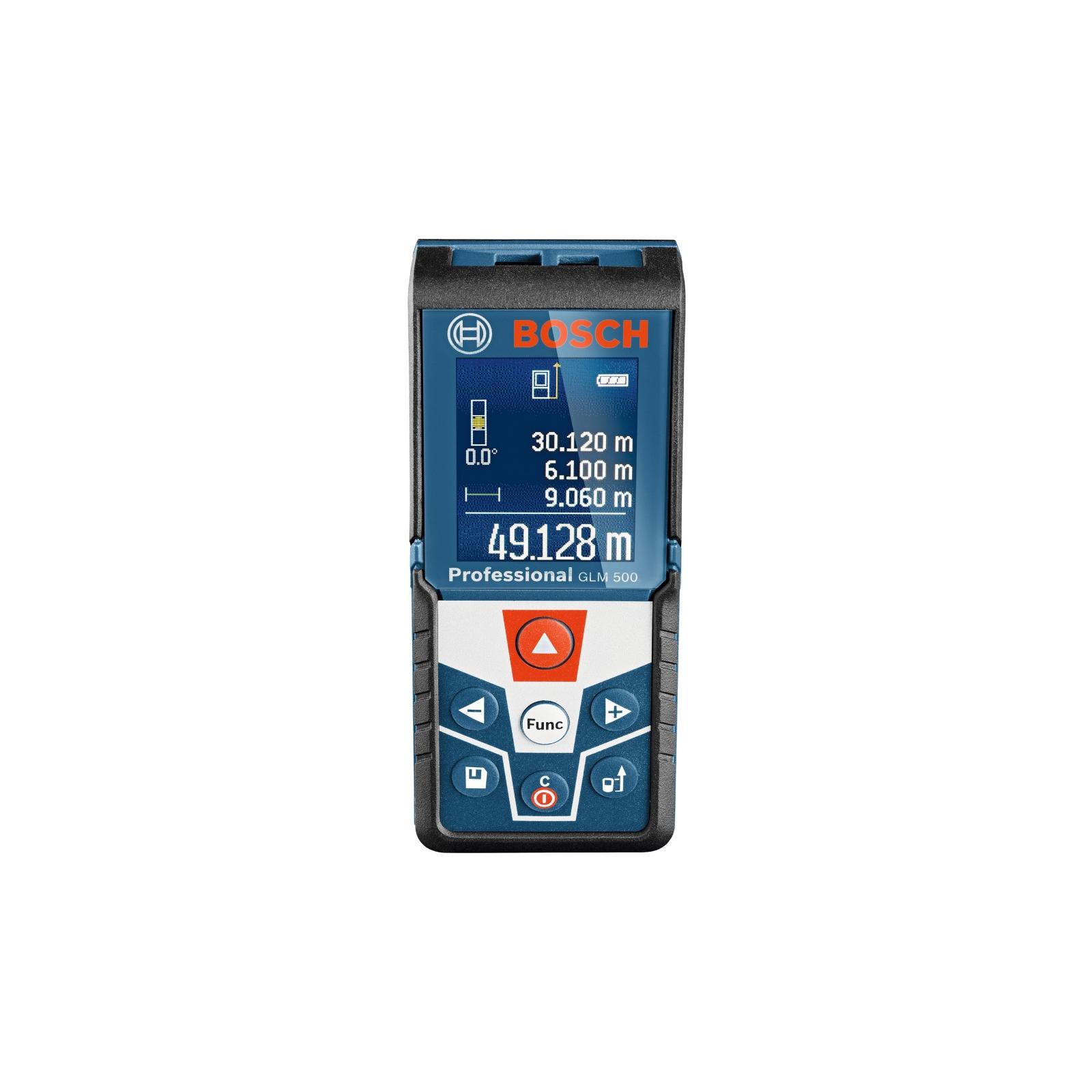 Дальномер Bosch GLM 500 лазерний, 50м, ±1.5мм (0.601.072.H00)