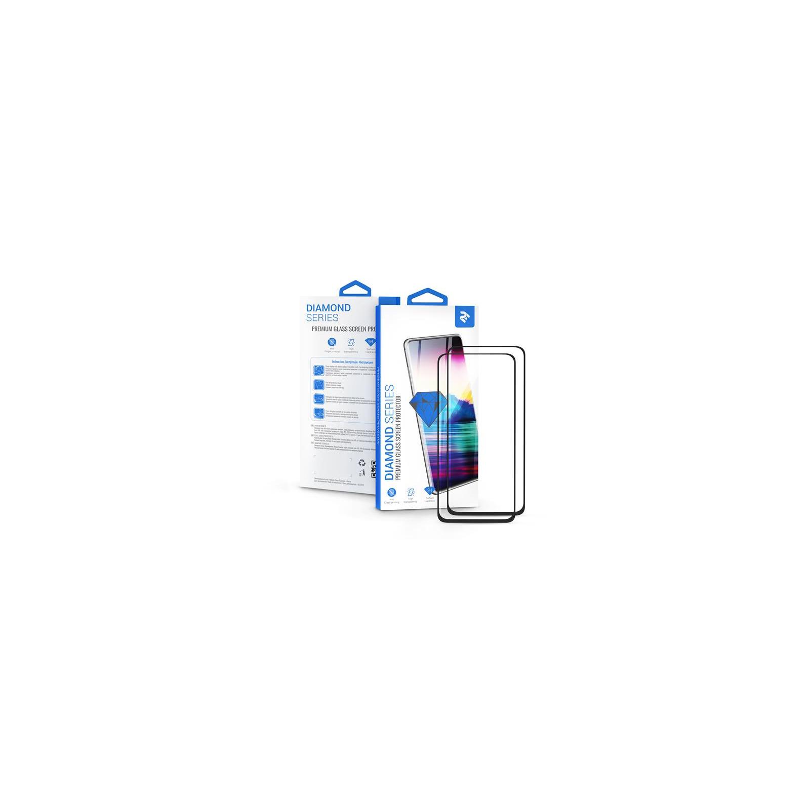 Стекло защитное 2E Xiaomi Redmi Note 8 Pro , 2.5D FCFG, black border (2in1) (2E-MI-N8PR-LT-BB-2IN1)