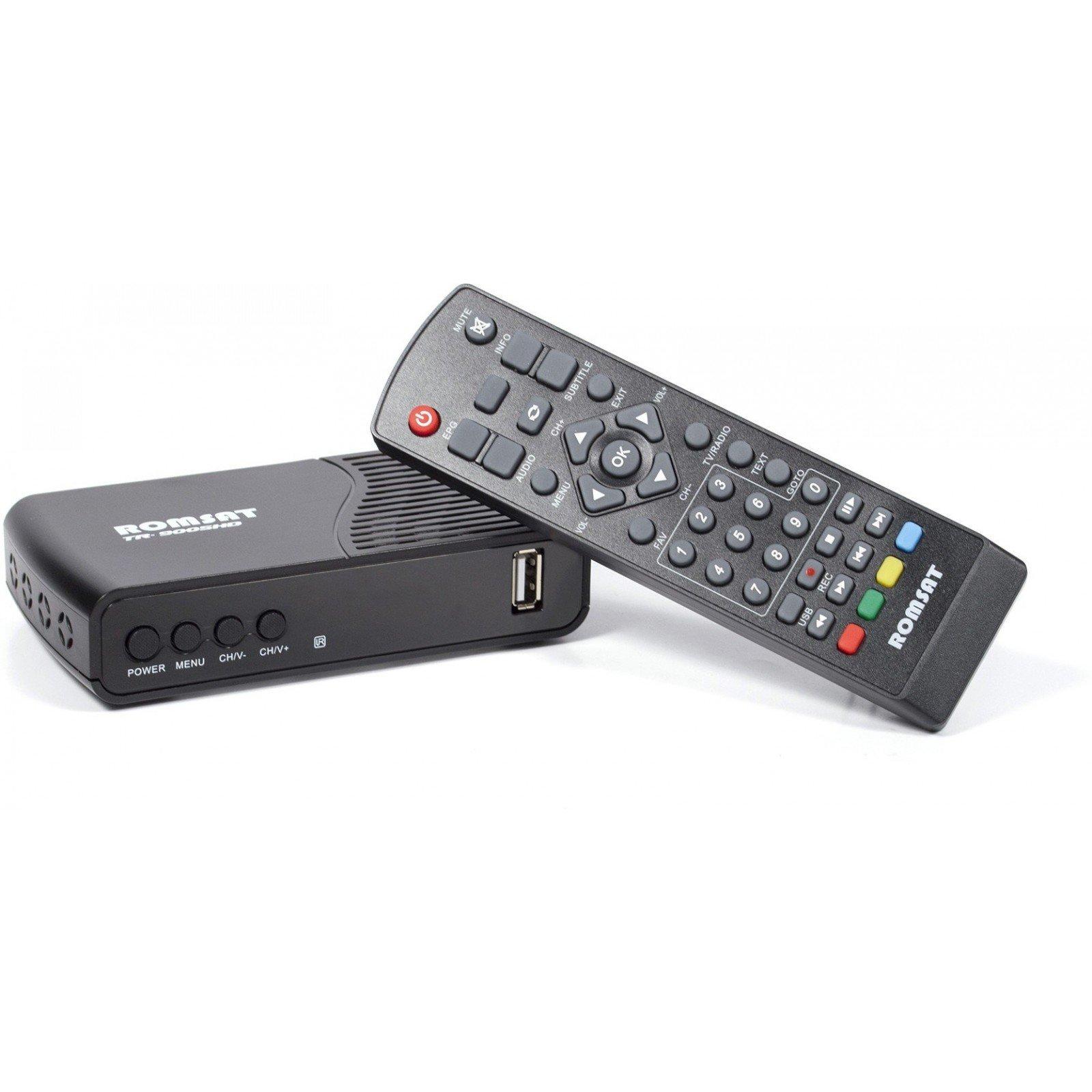 ТВ тюнер Romsat TR-9005HD, chip set MSD7T01 (TR-9005HD) зображення 3