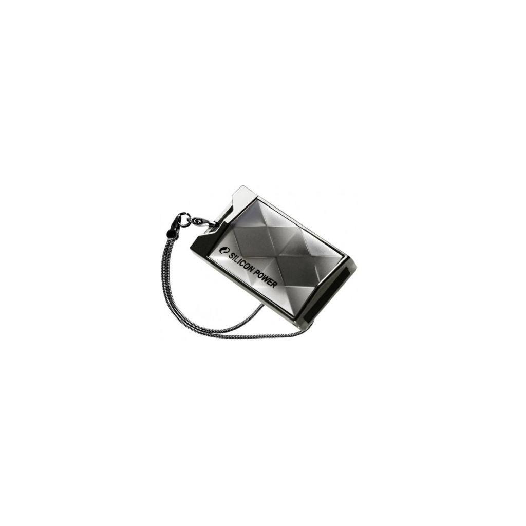 USB флеш накопитель 4Gb 850 titanium Silicon Power (SP004GBUF2850V1T)