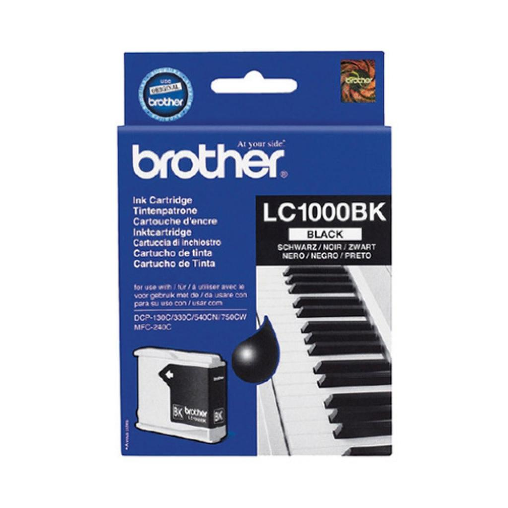 Картридж Brother DCP-130/330/350,MFC240/465/885 bl. (LC1000BK)