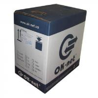Кабель сетевой OC-UTP5e-VT/500 OK-Net (КППт-ВП (100) 4х2х0,51)