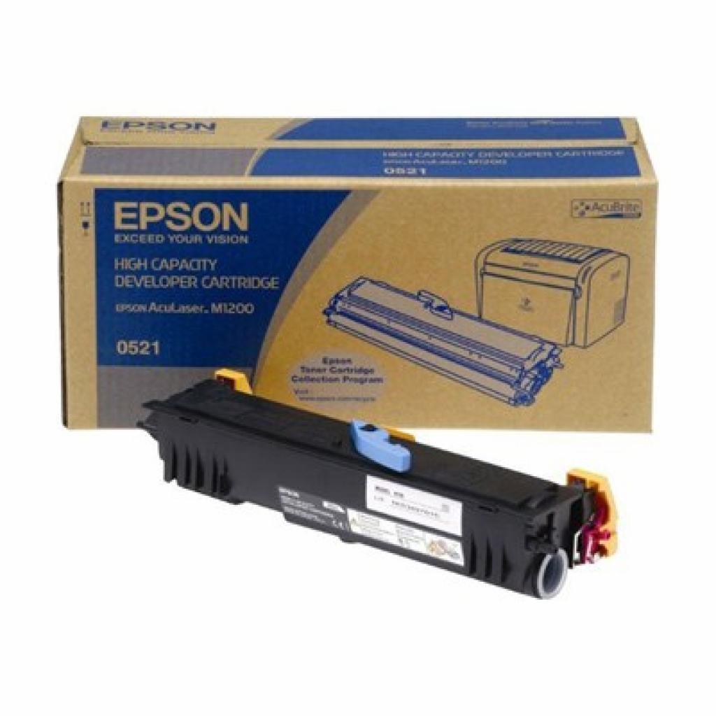 Картридж EPSON AcuLaser M1200 black, 3200 стр. (C13S050521)