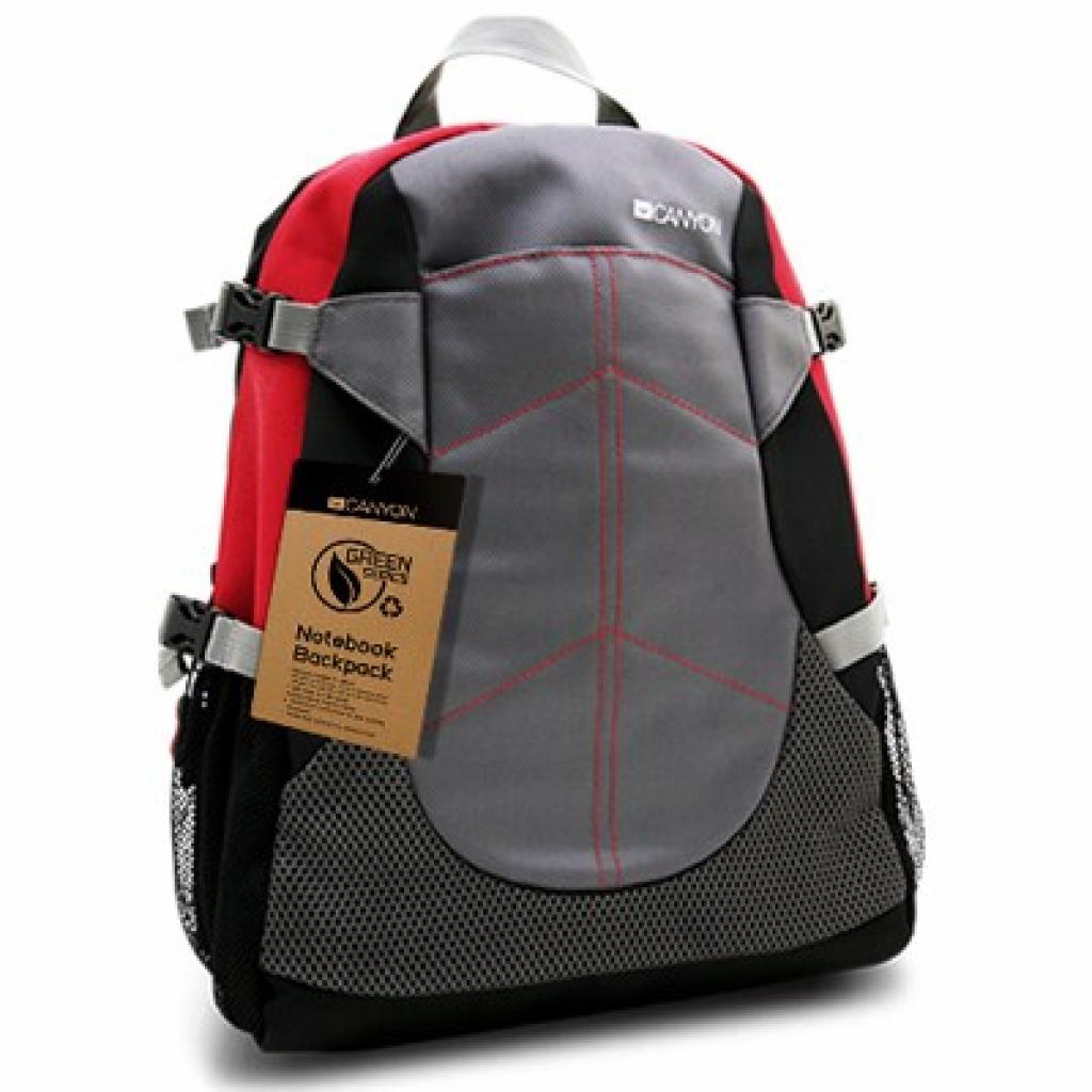 Рюкзак для ноутбука CANYON 12 Green series (CNF-NB03R)