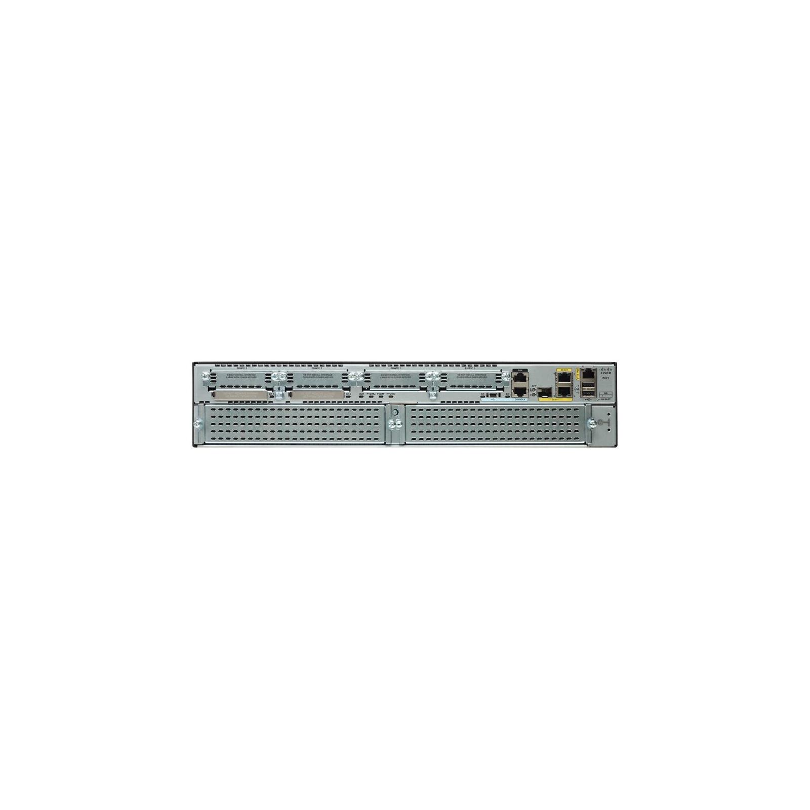 Маршрутизатор Cisco CISCO2921-V/K9 изображение 2