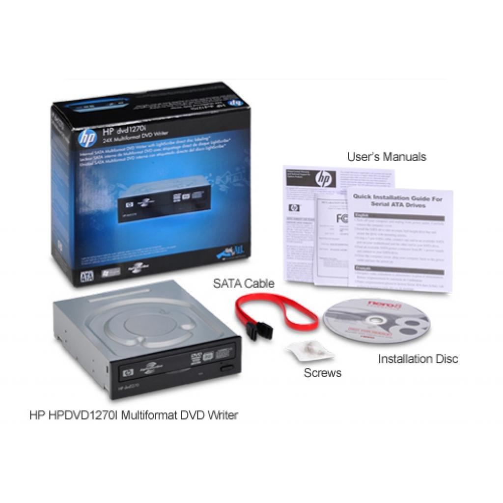 Оптический привод DVD±RW HP DVD1260i (RTL) изображение 6