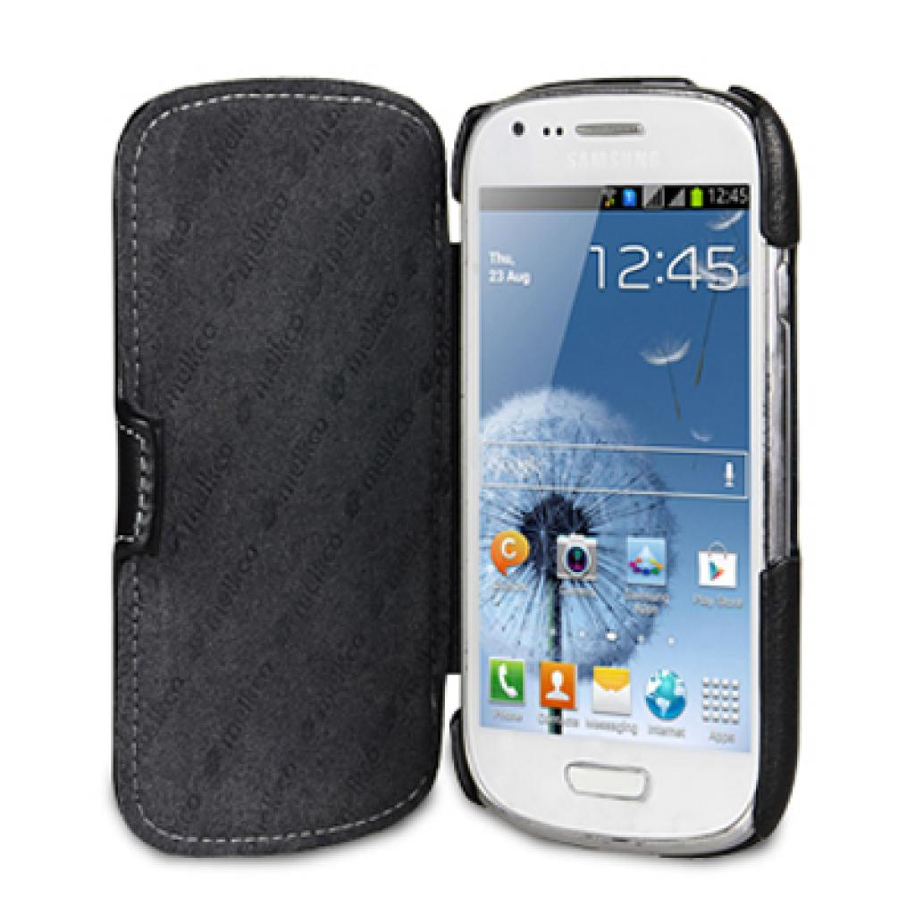 Чехол для моб. телефона Melkco для Samsung i8190 Galaxy SIII mini Booka Type black (SSGN81LCJB1BKNP) изображение 3