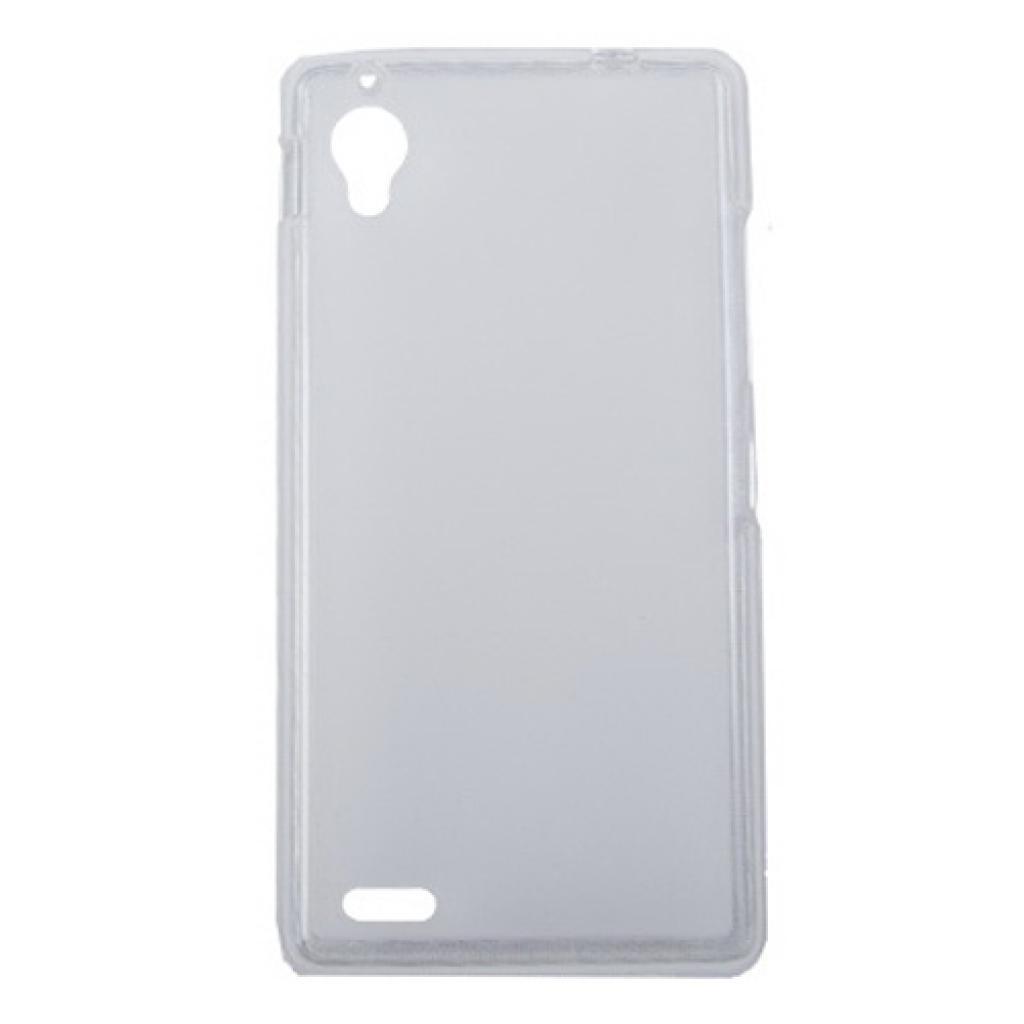 Чехол для моб. телефона Drobak для Fly IQ4412 /Elastic PU/Clear (214725)