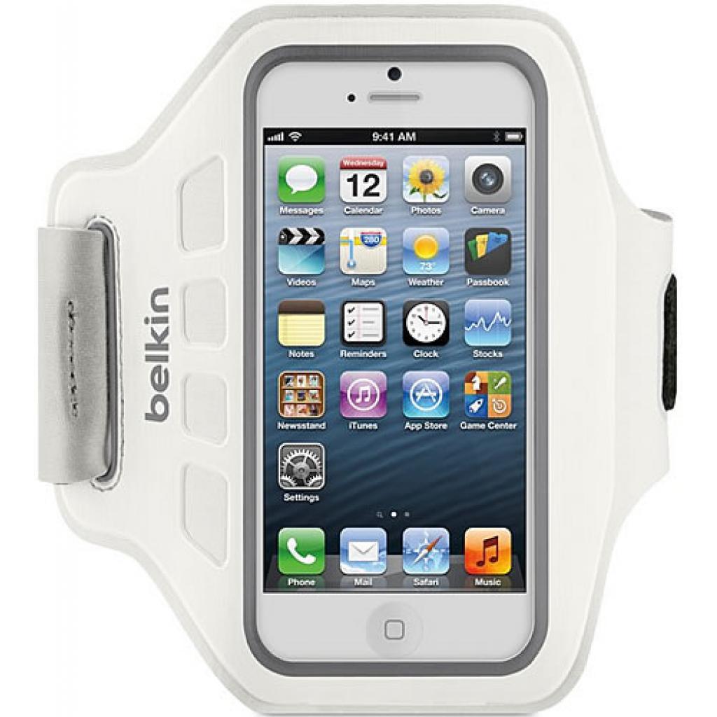 Чехол для моб. телефона Belkin iPhone 5/5s EaseFit Armband/White (F8W105vfC05)