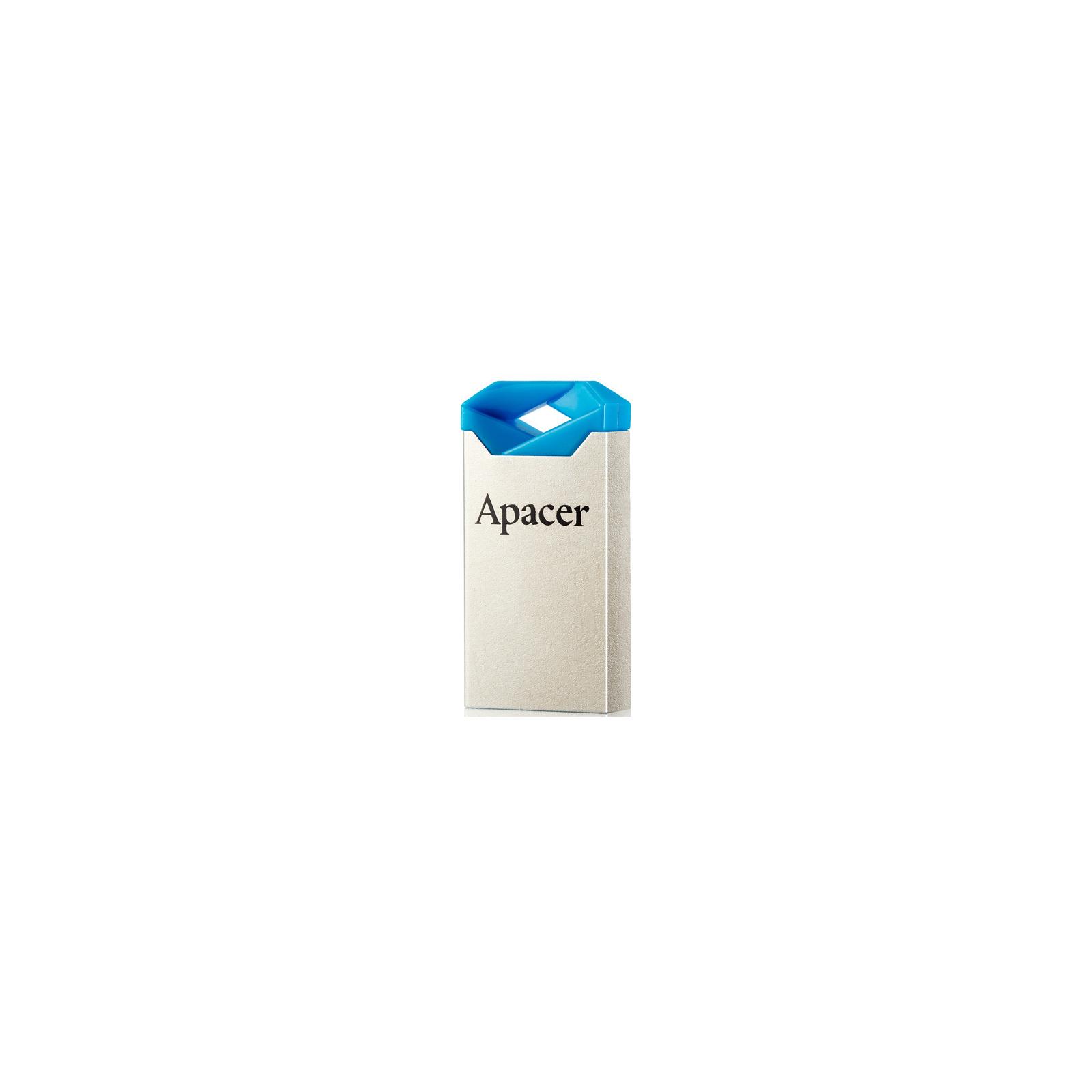 USB флеш накопитель 8GB AH111 Blue RP USB2.0 Apacer (AP8GAH111U-1) изображение 2