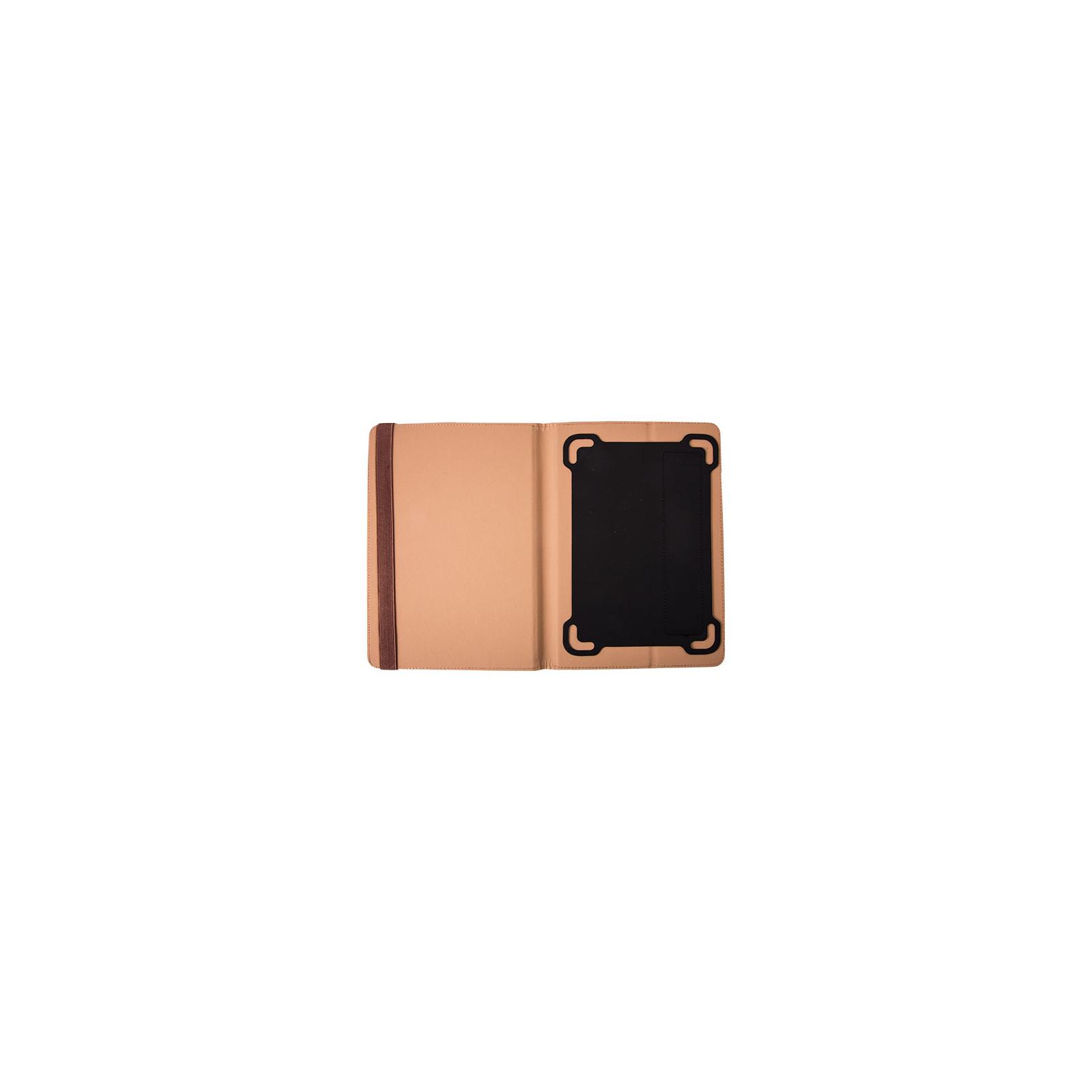 "Чехол для планшета Vellini 10-10,1"" Universal stand Brown (216868) изображение 2"