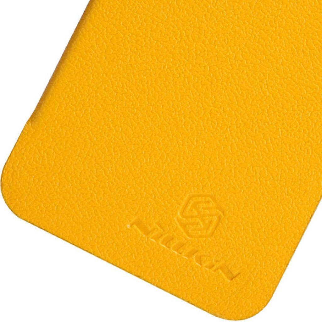Чехол для моб. телефона NILLKIN для iPhone 5 /Fresh/ Leather/Yellow (6088706) изображение 4