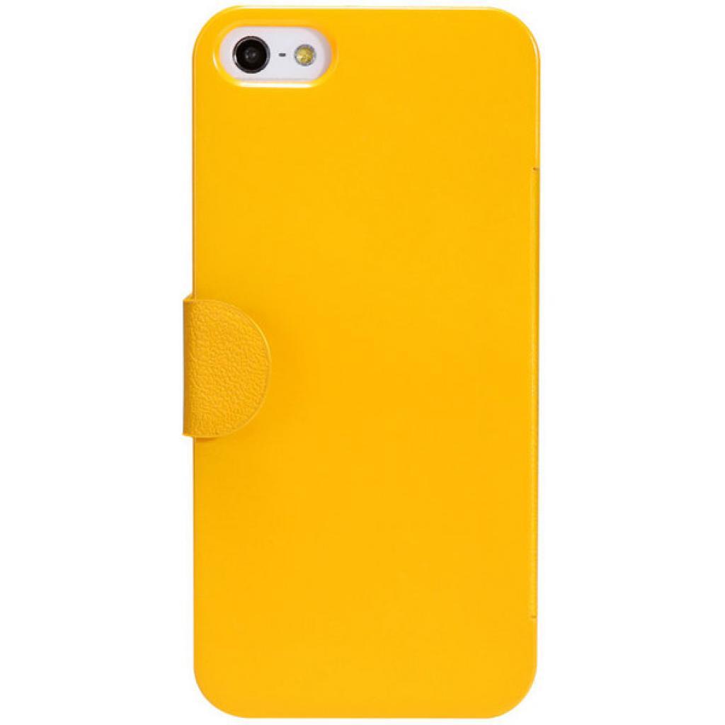 Чехол для моб. телефона NILLKIN для iPhone 5 /Fresh/ Leather/Yellow (6088706)