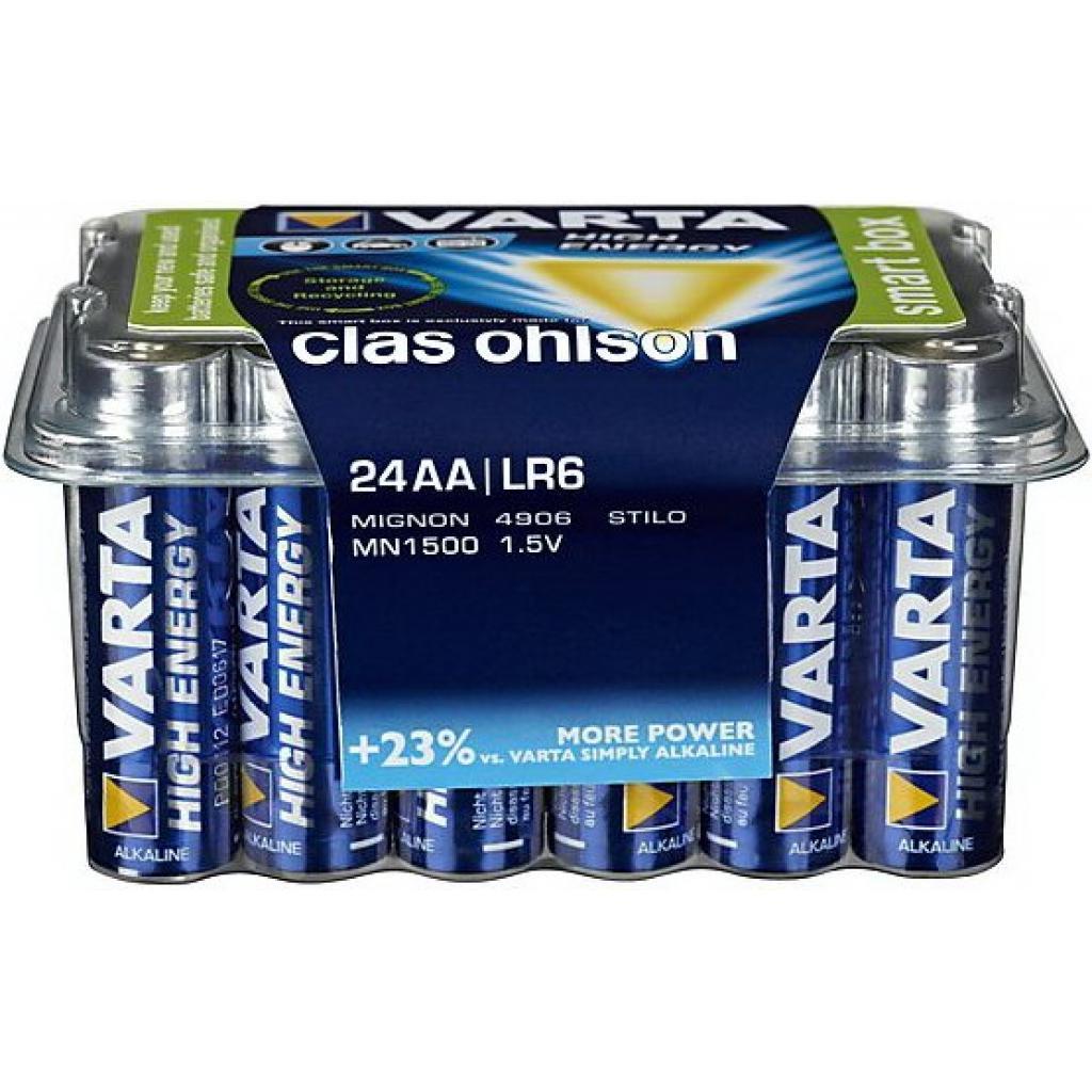 Батарейка Varta HIGH Energy ALKALINE * 24 box (4903301124)